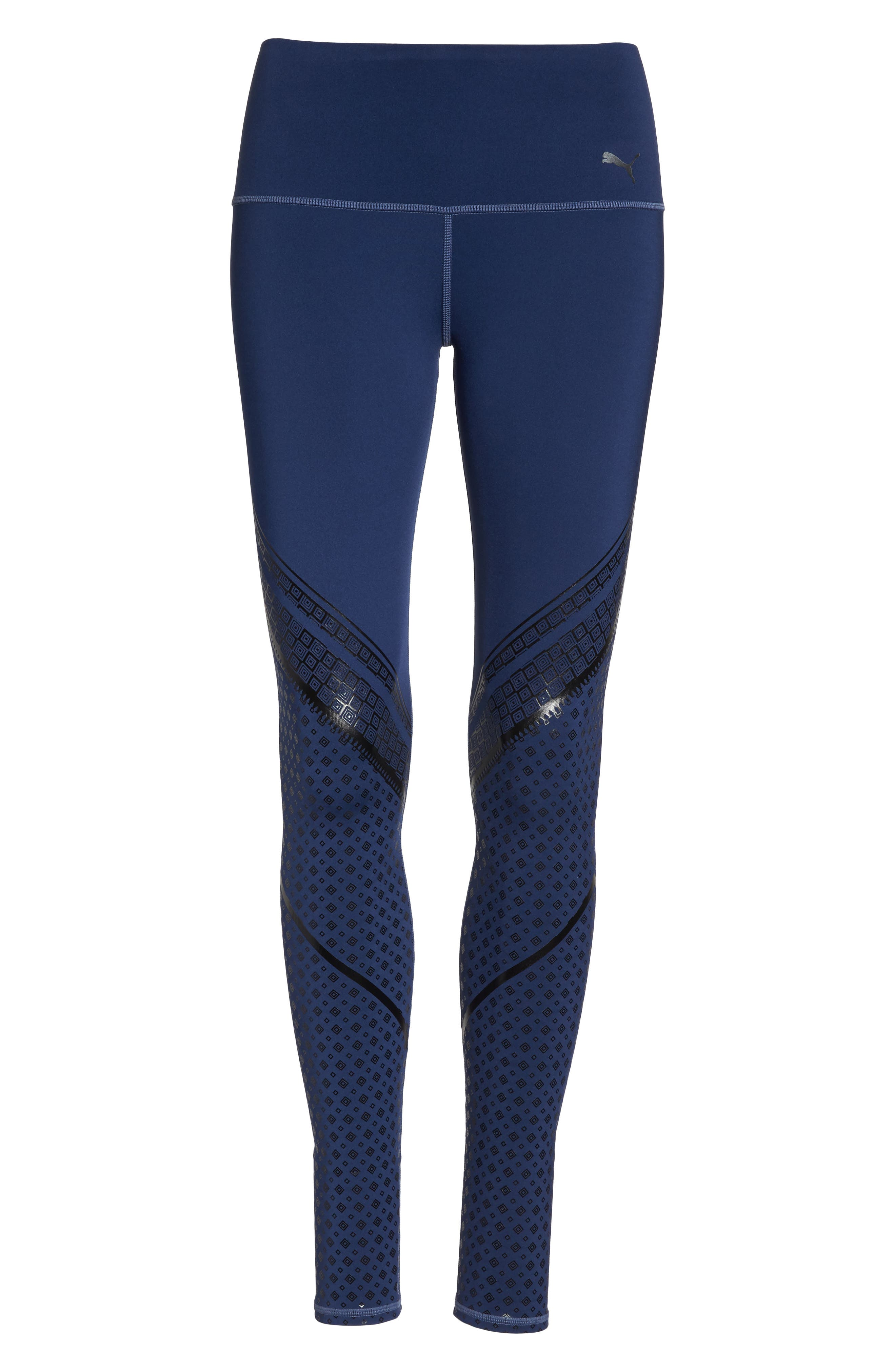 Everyday Train Tights,                             Alternate thumbnail 7, color,                             Blue Indigo