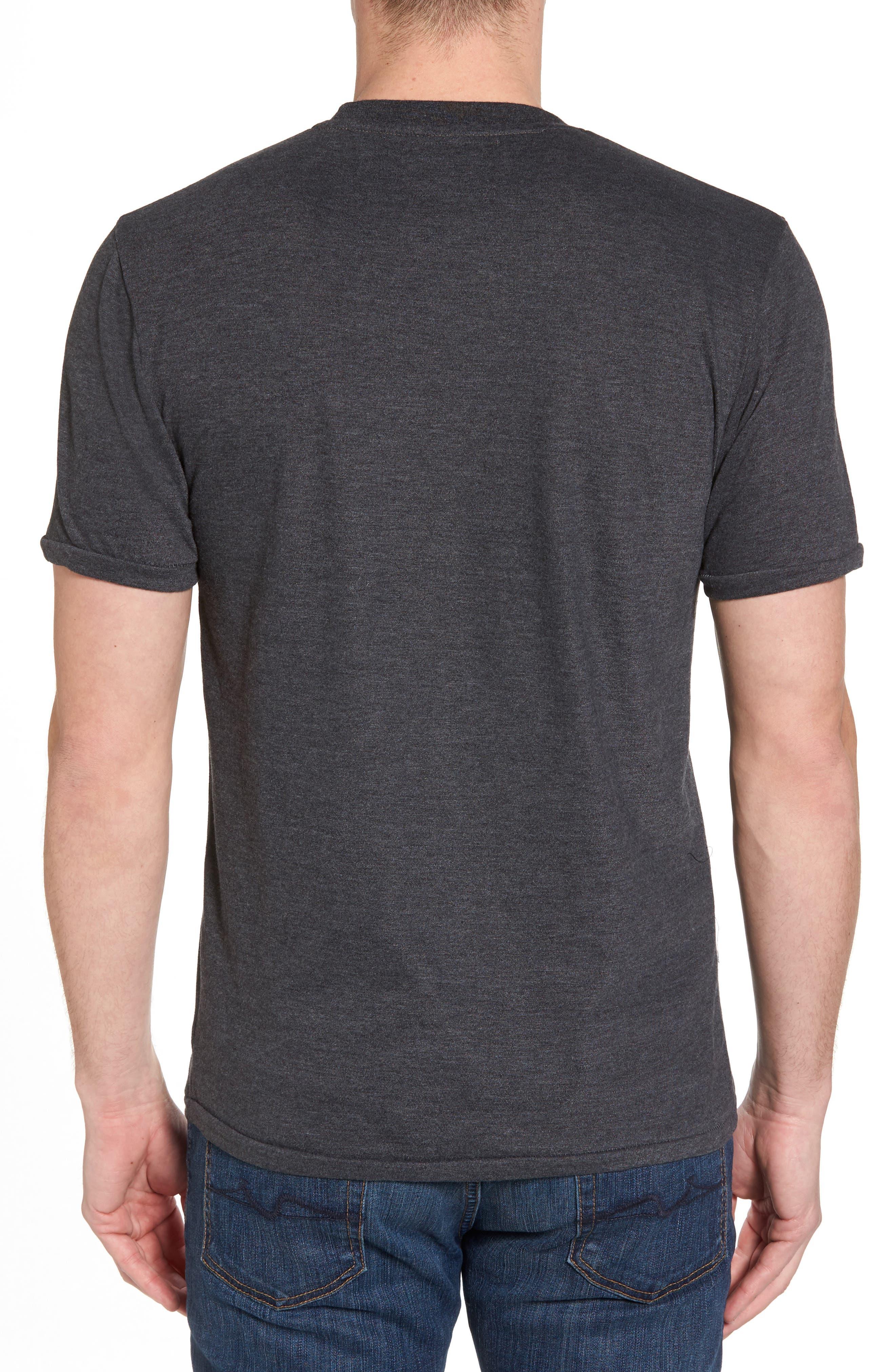 Hillwood Bruins T-Shirt,                             Alternate thumbnail 2, color,                             Heather Black