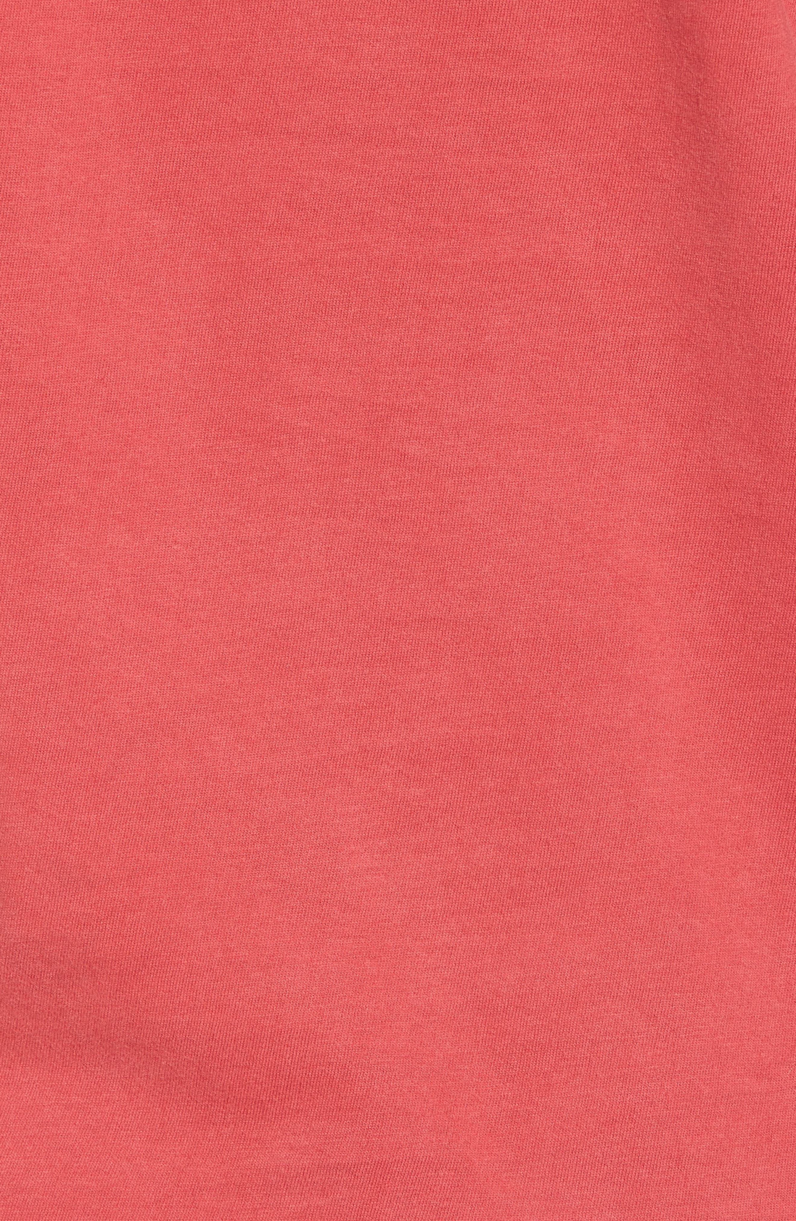 Gresham Red Wings T-Shirt,                             Alternate thumbnail 5, color,                             Red