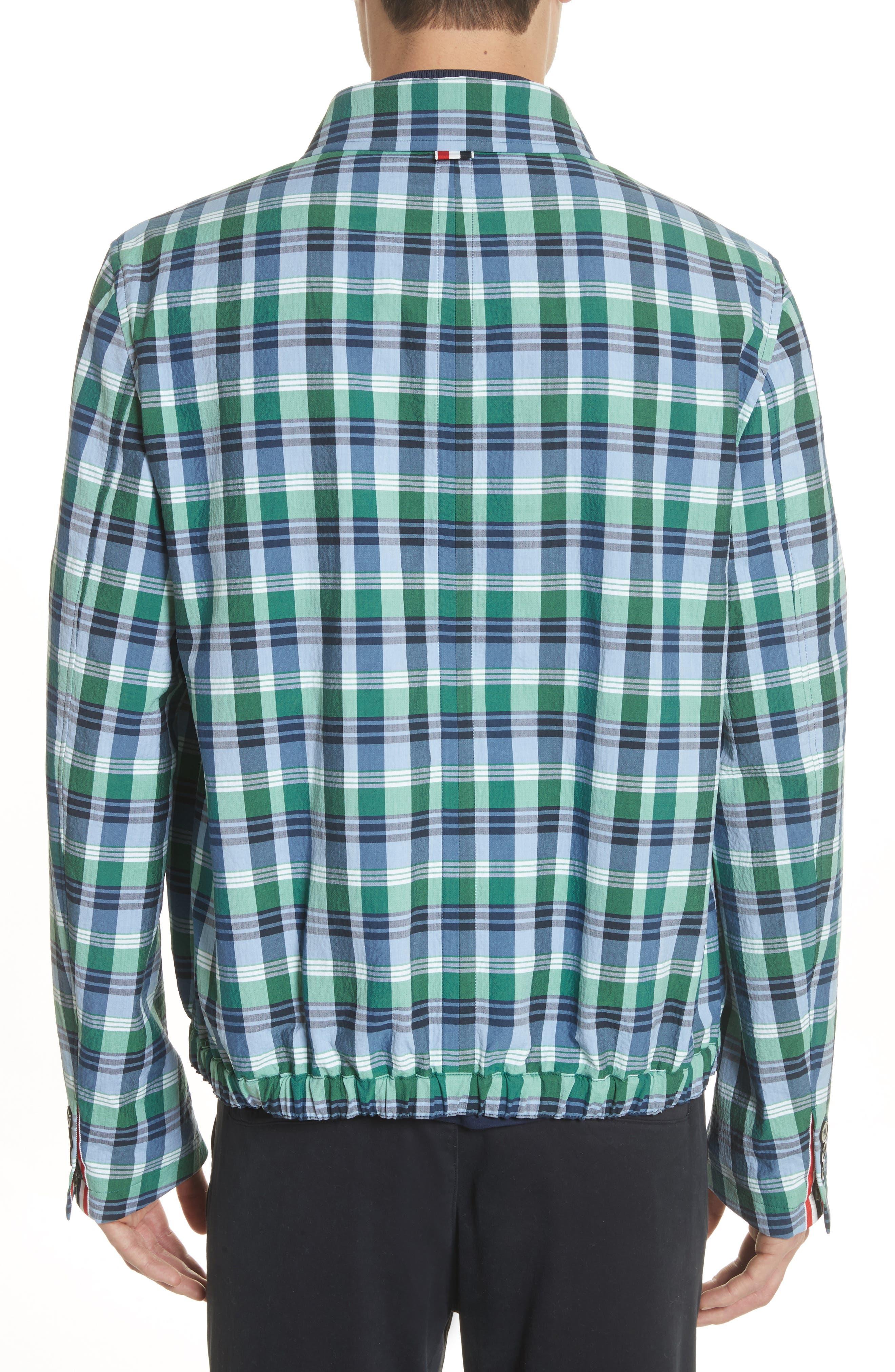 Alternate Image 2  - Thom Browne Plaid Jacket