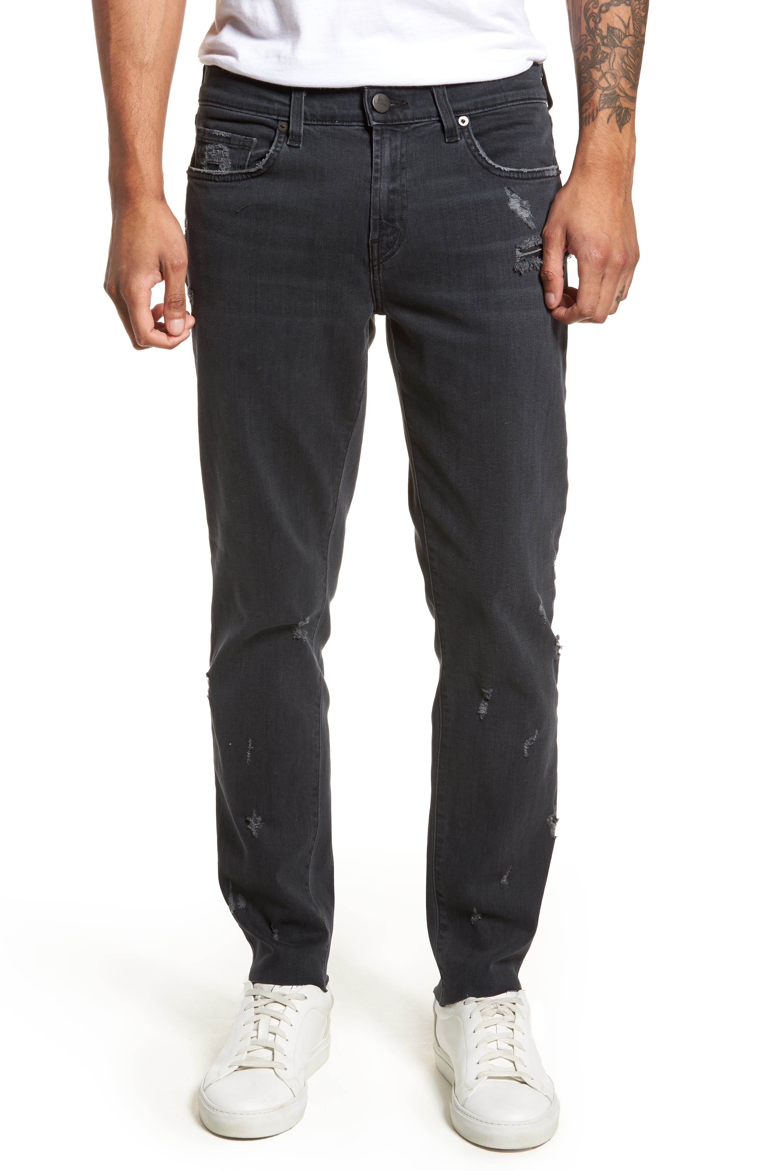 Tyler Slim Fit Jeans,                             Main thumbnail 1, color,                             Glauconite