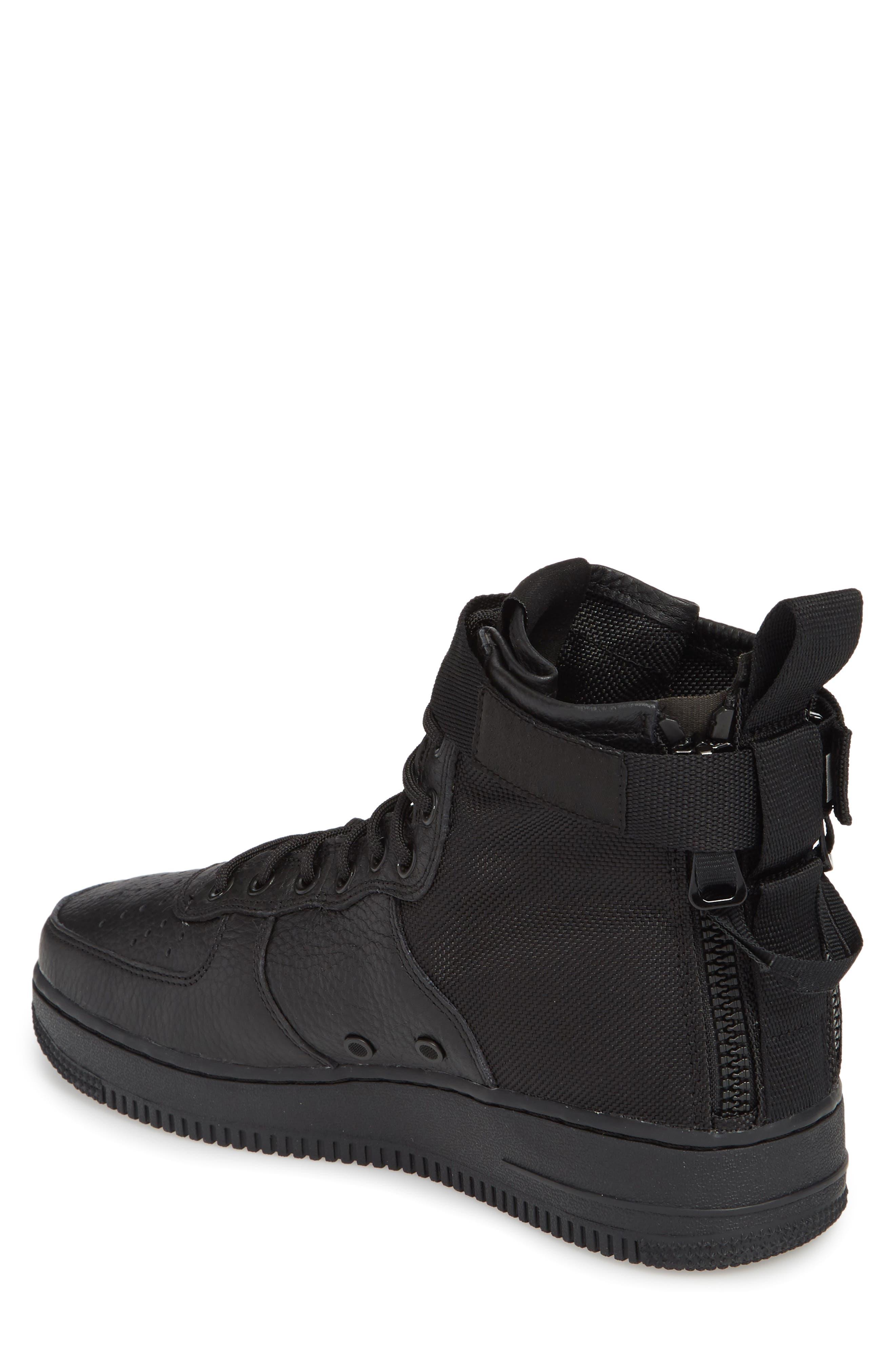 Alternate Image 2  - Nike SF Air Force 1 Mid Sneaker (Men)