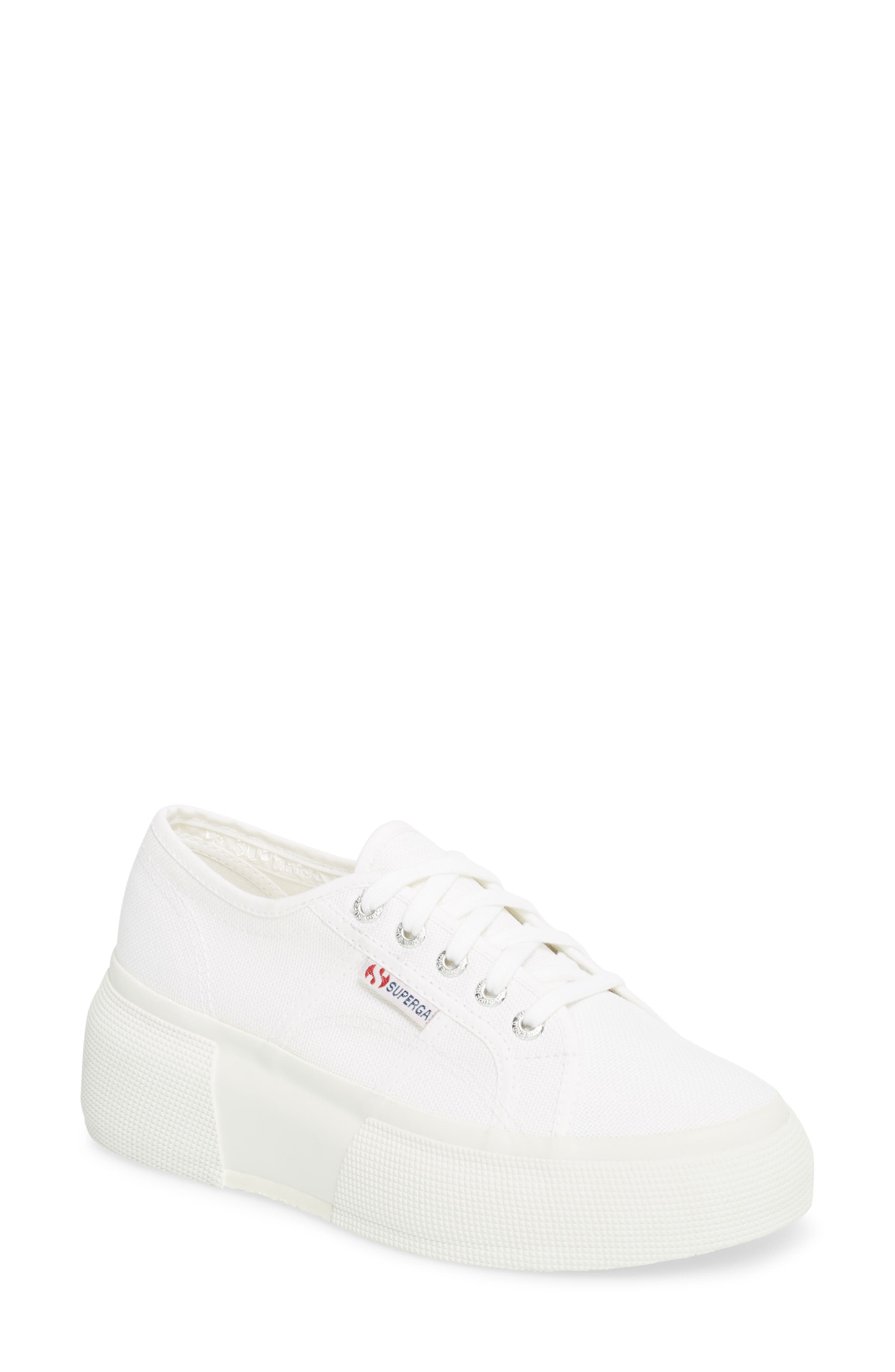 2287 Cotu Platform Sneaker,                             Main thumbnail 1, color,                             White
