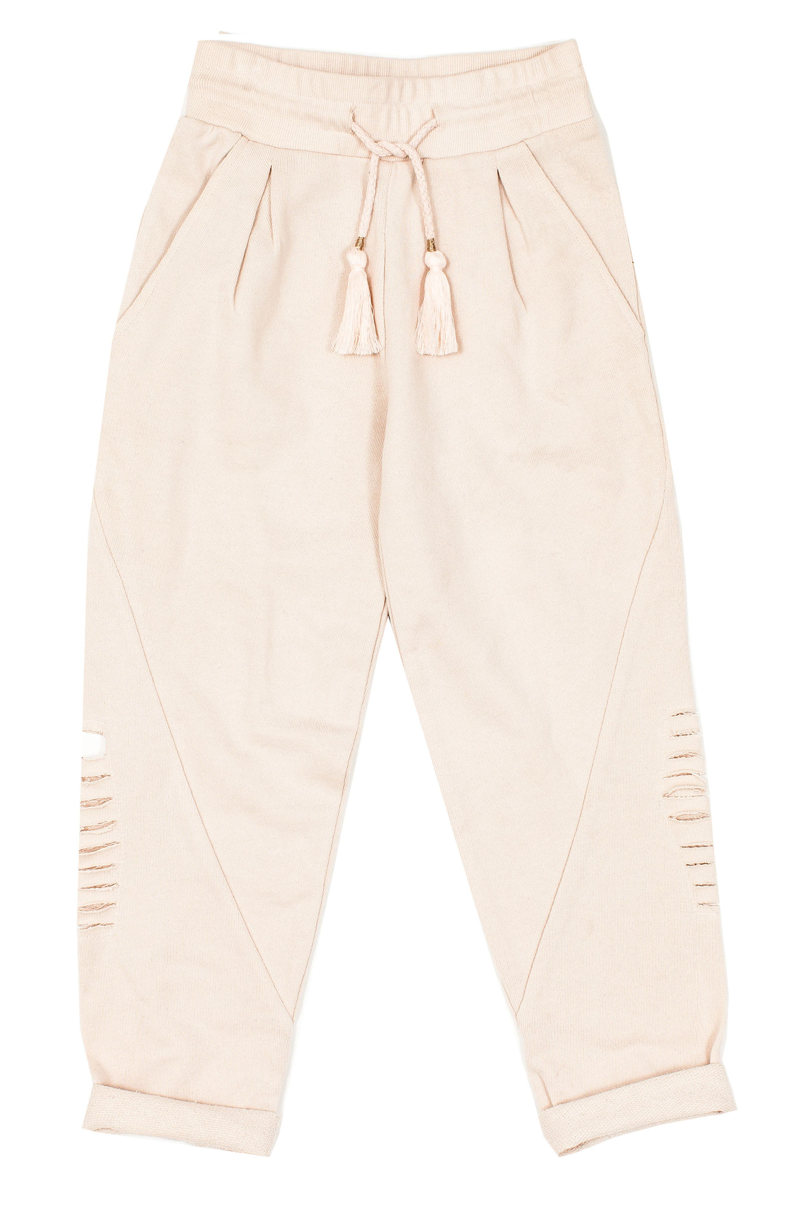 Alchemy Distressed Sweatpants,                             Main thumbnail 1, color,                             Stardust