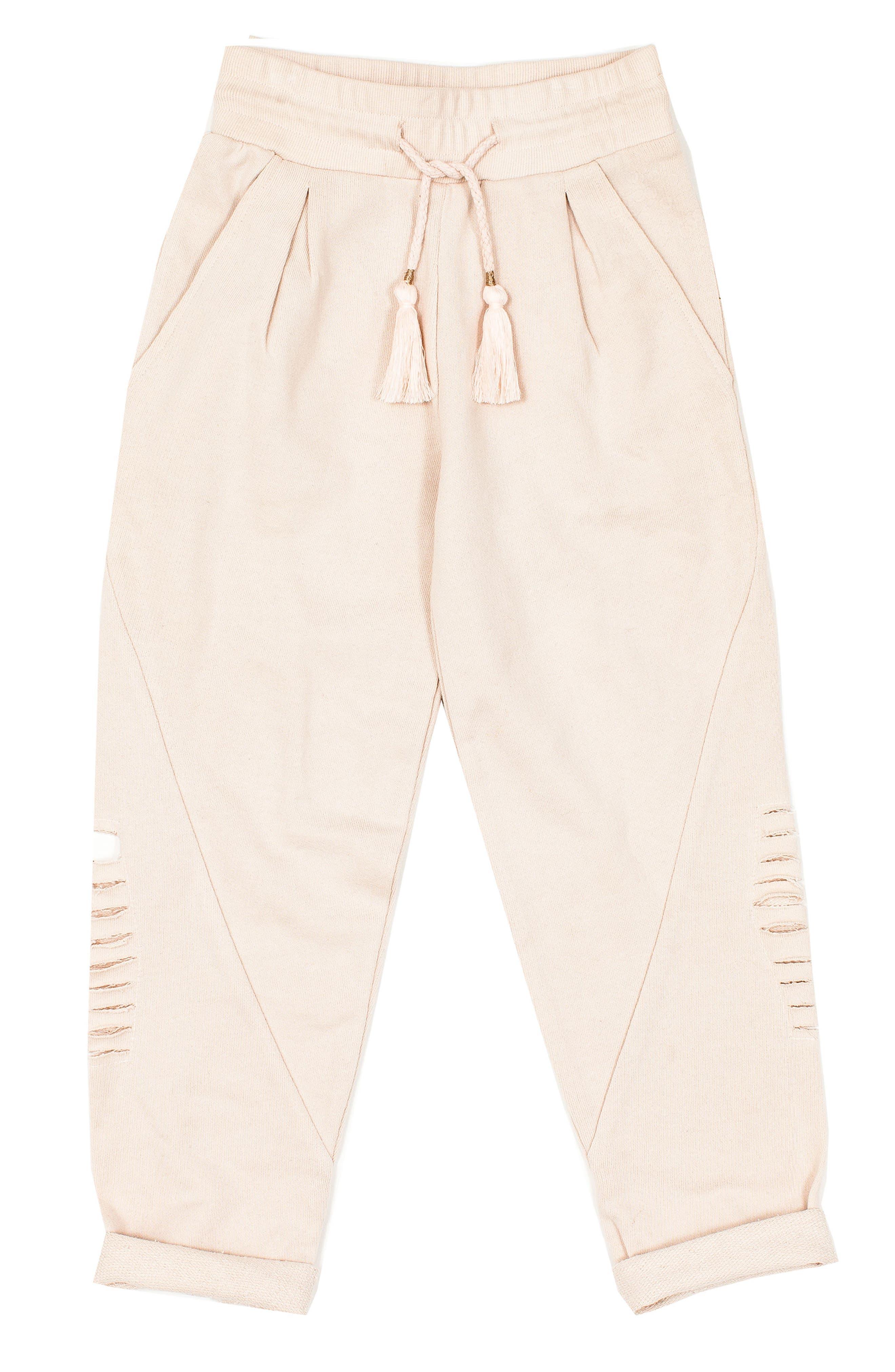 Alchemy Distressed Sweatpants,                         Main,                         color, Stardust
