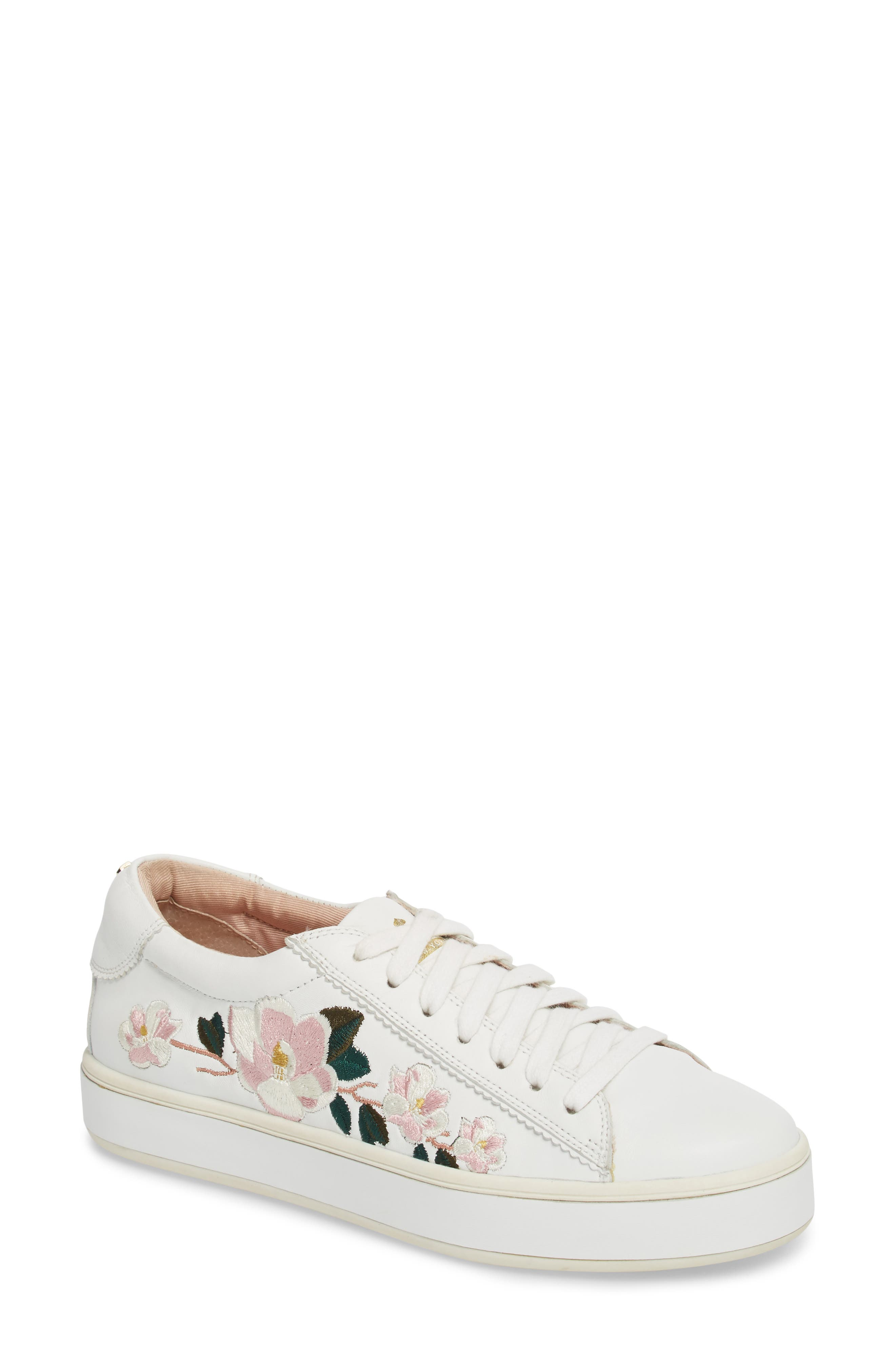 kate spade new york amber embroidered sneaker (Women)