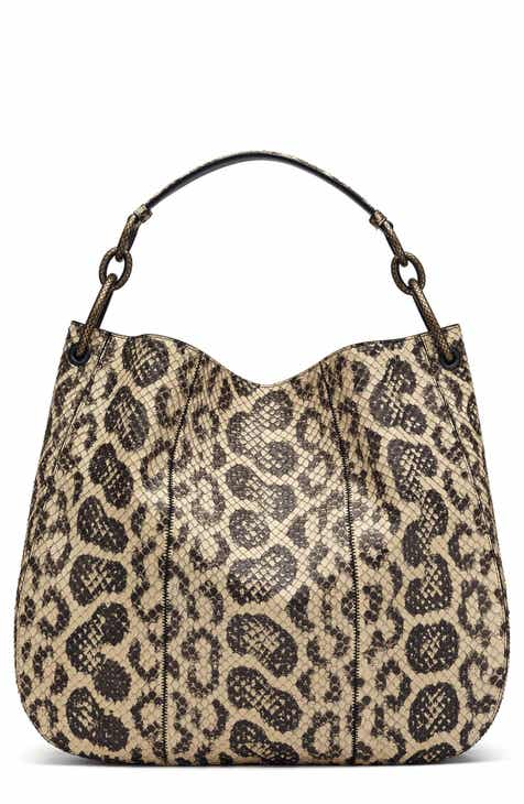 eb84c670d125 Bottega Veneta Medium Loop Genuine Snakeskin Hobo
