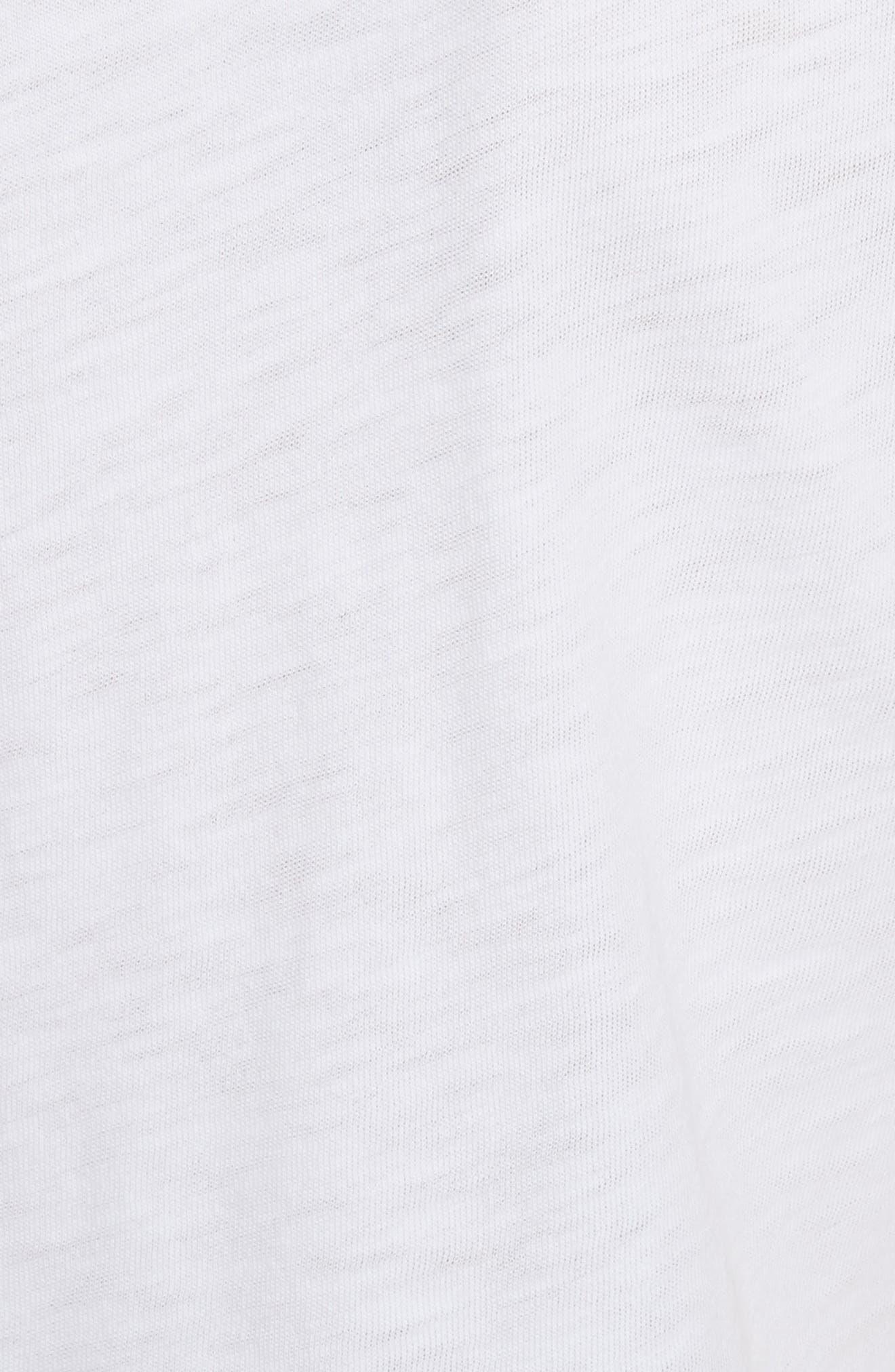 Percy Crew Tee,                             Alternate thumbnail 5, color,                             White