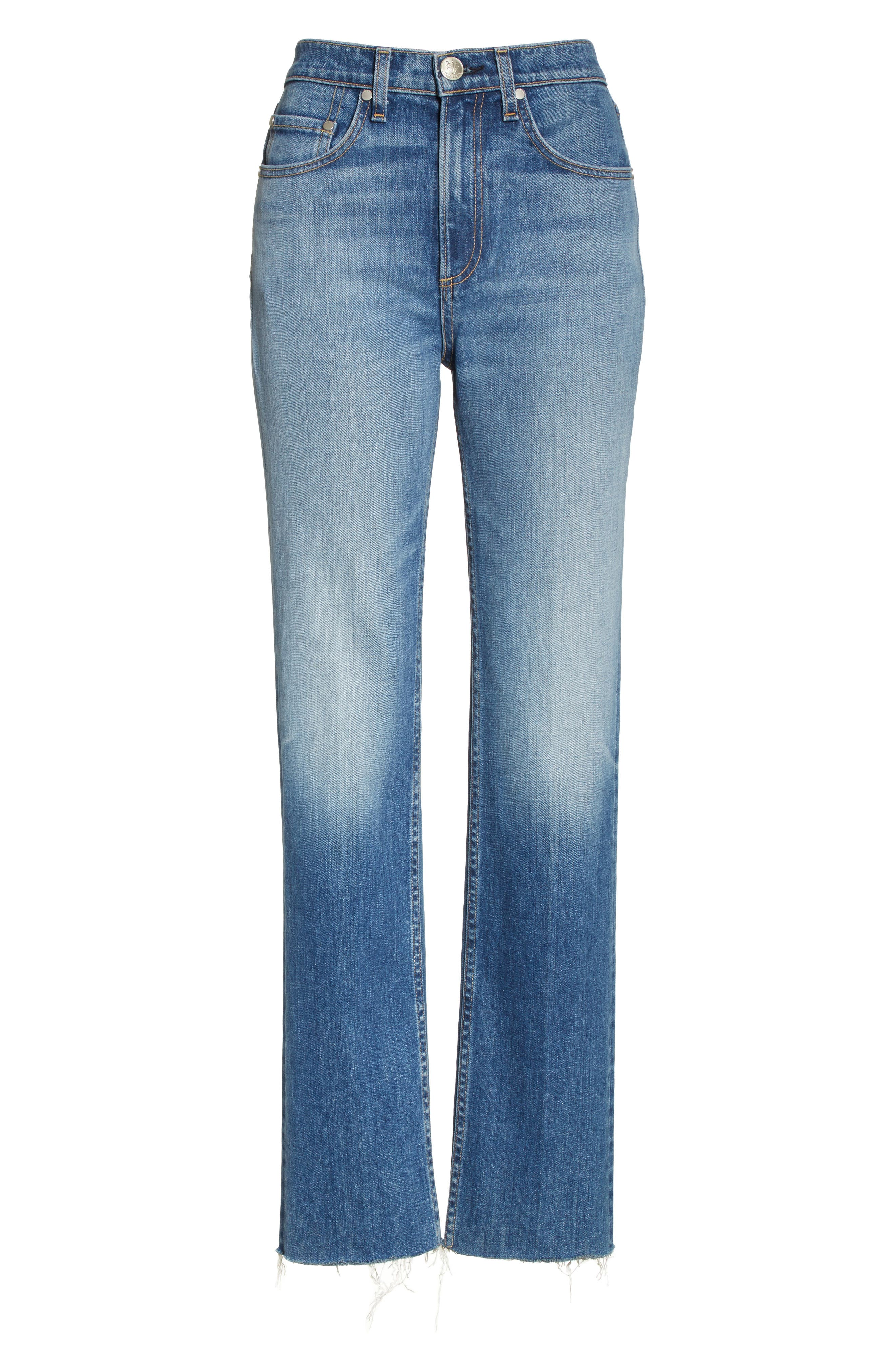 Straight Leg Jeans,                             Alternate thumbnail 7, color,                             Rovers