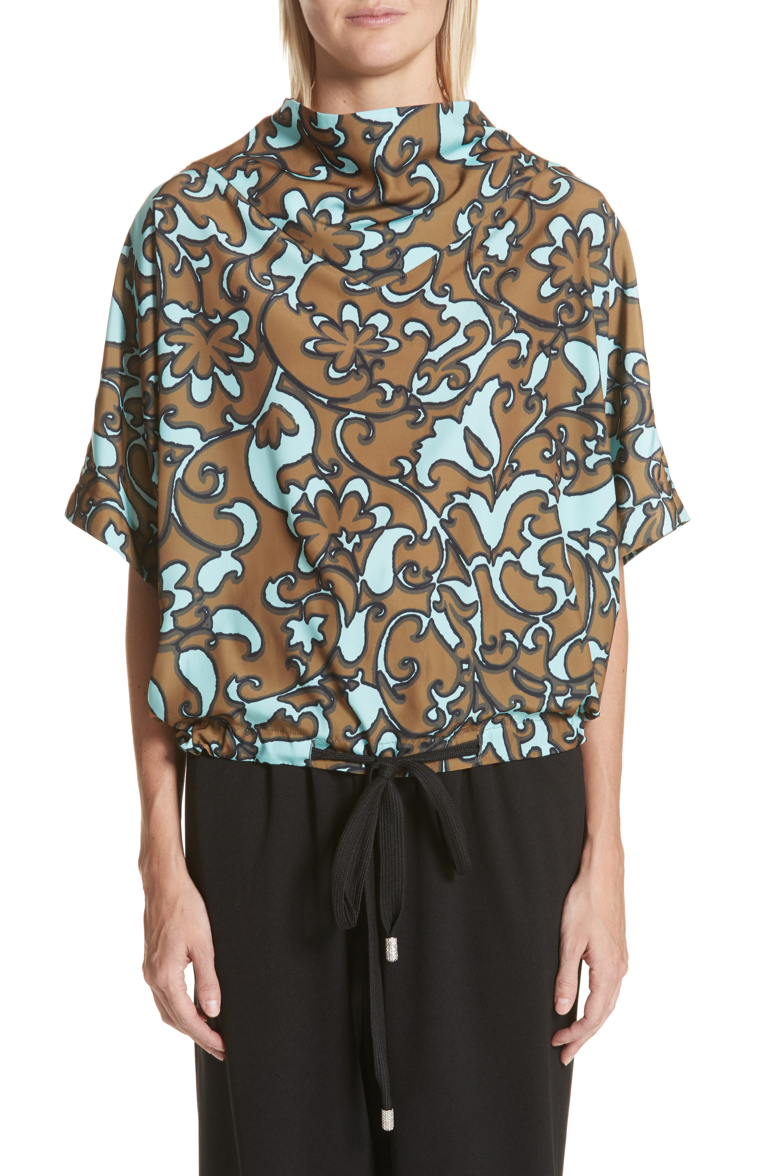 MARC JACOBS Drawstring Hem Top