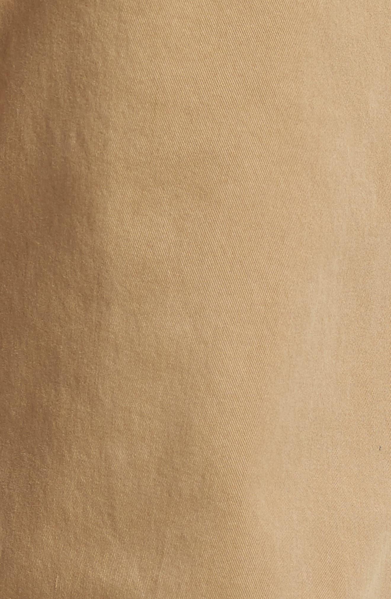 Homme Slim Fit Chino Pants,                             Alternate thumbnail 5, color,                             Khaki