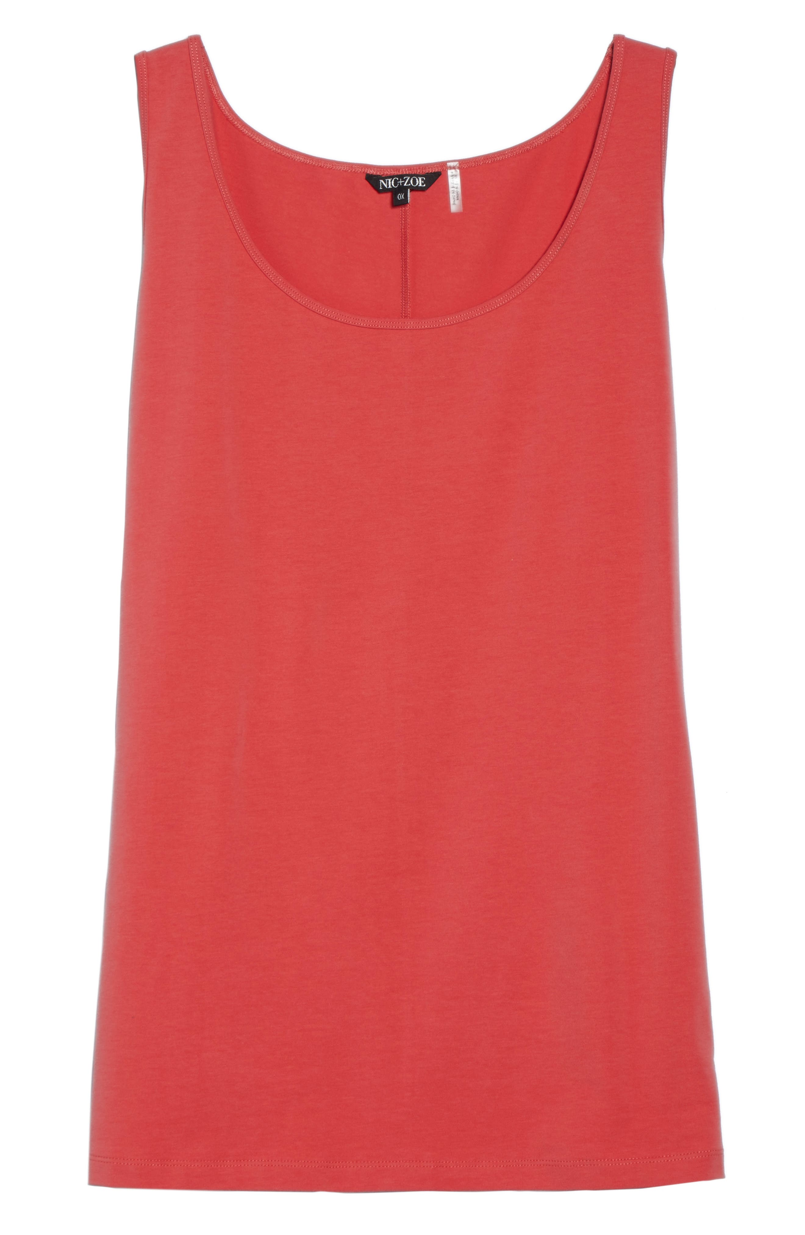 Perfect Scoop Tank,                             Alternate thumbnail 6, color,                             Spiced Rose