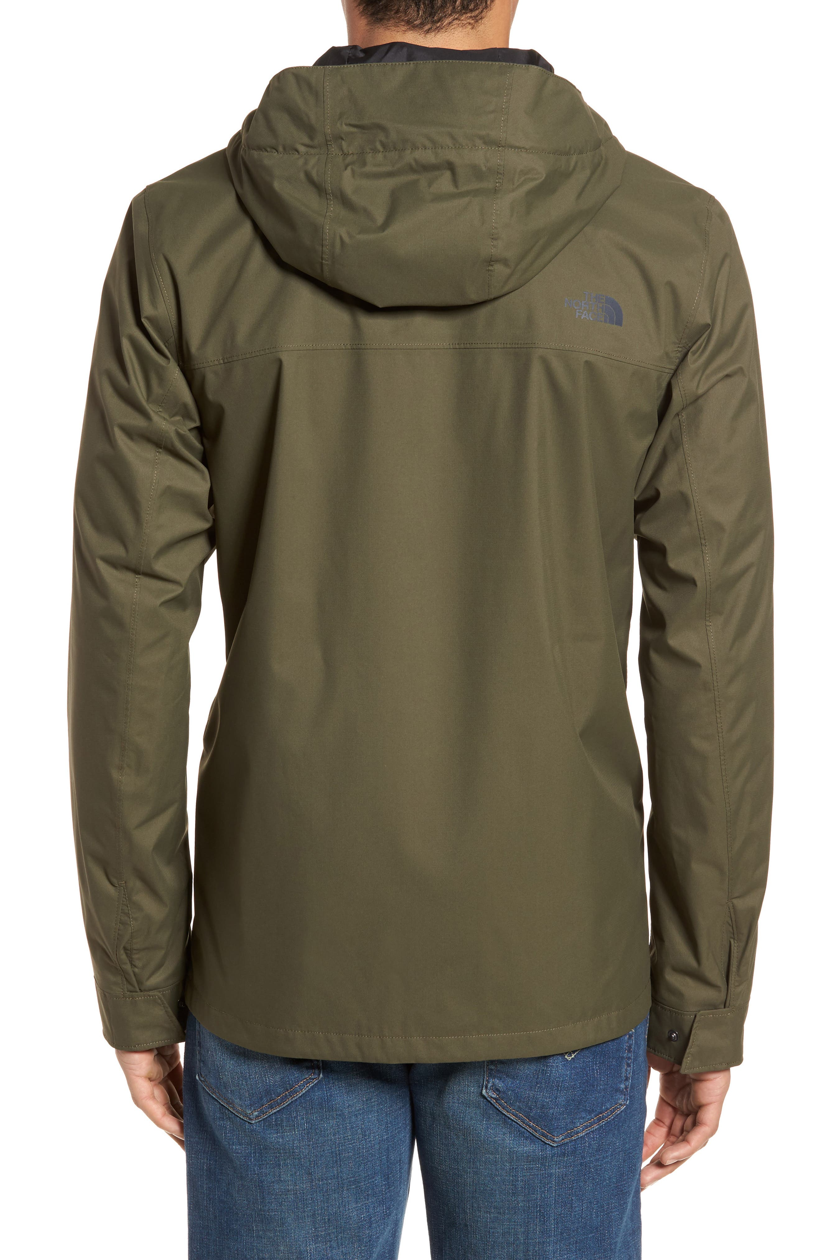 Jenison II Insulated Waterproof Jacket,                             Alternate thumbnail 2, color,                             New Taupe Green