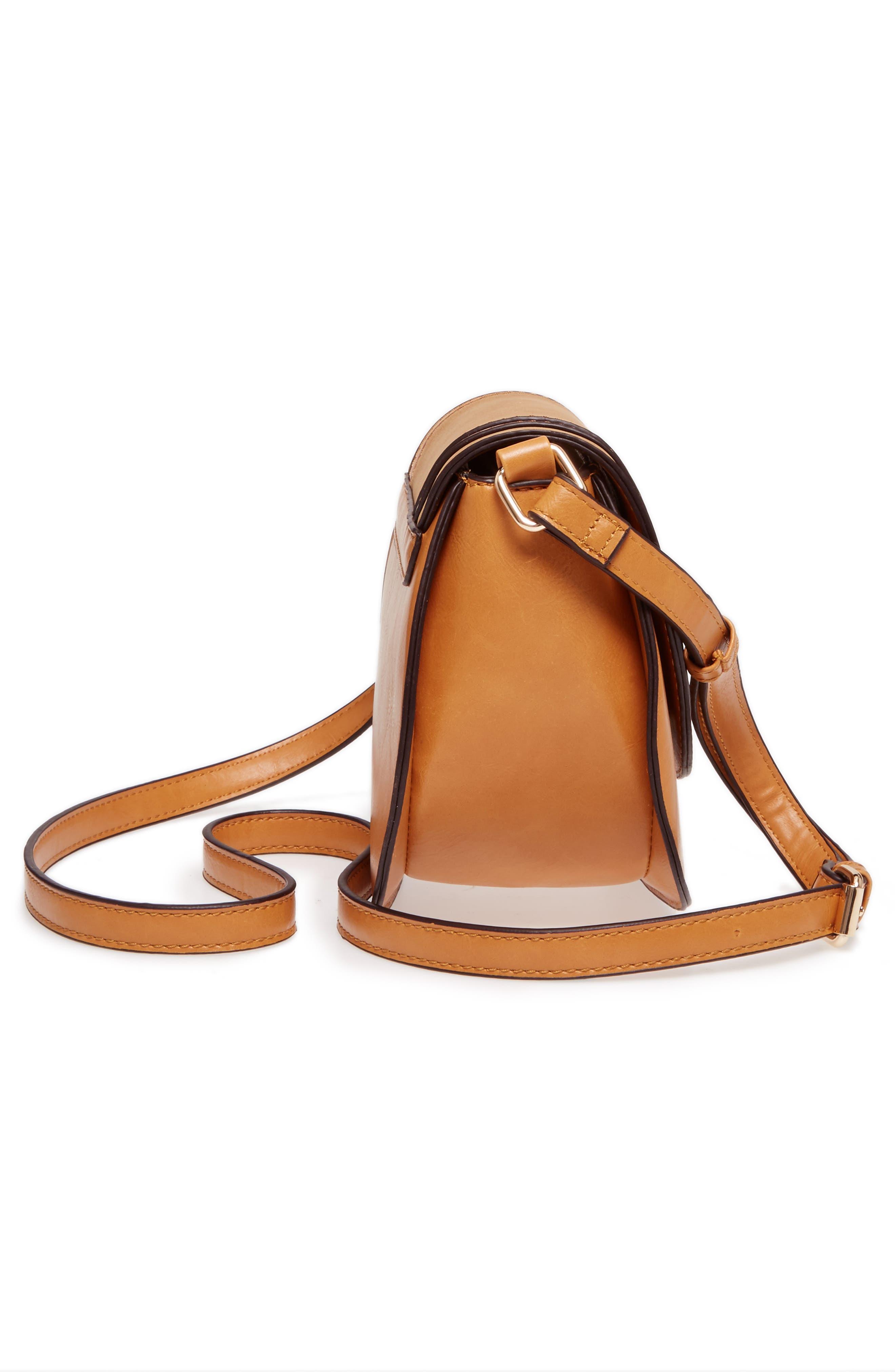 Alternate Image 5  - Sole Society Bryson Faux Leather Crossbody Bag