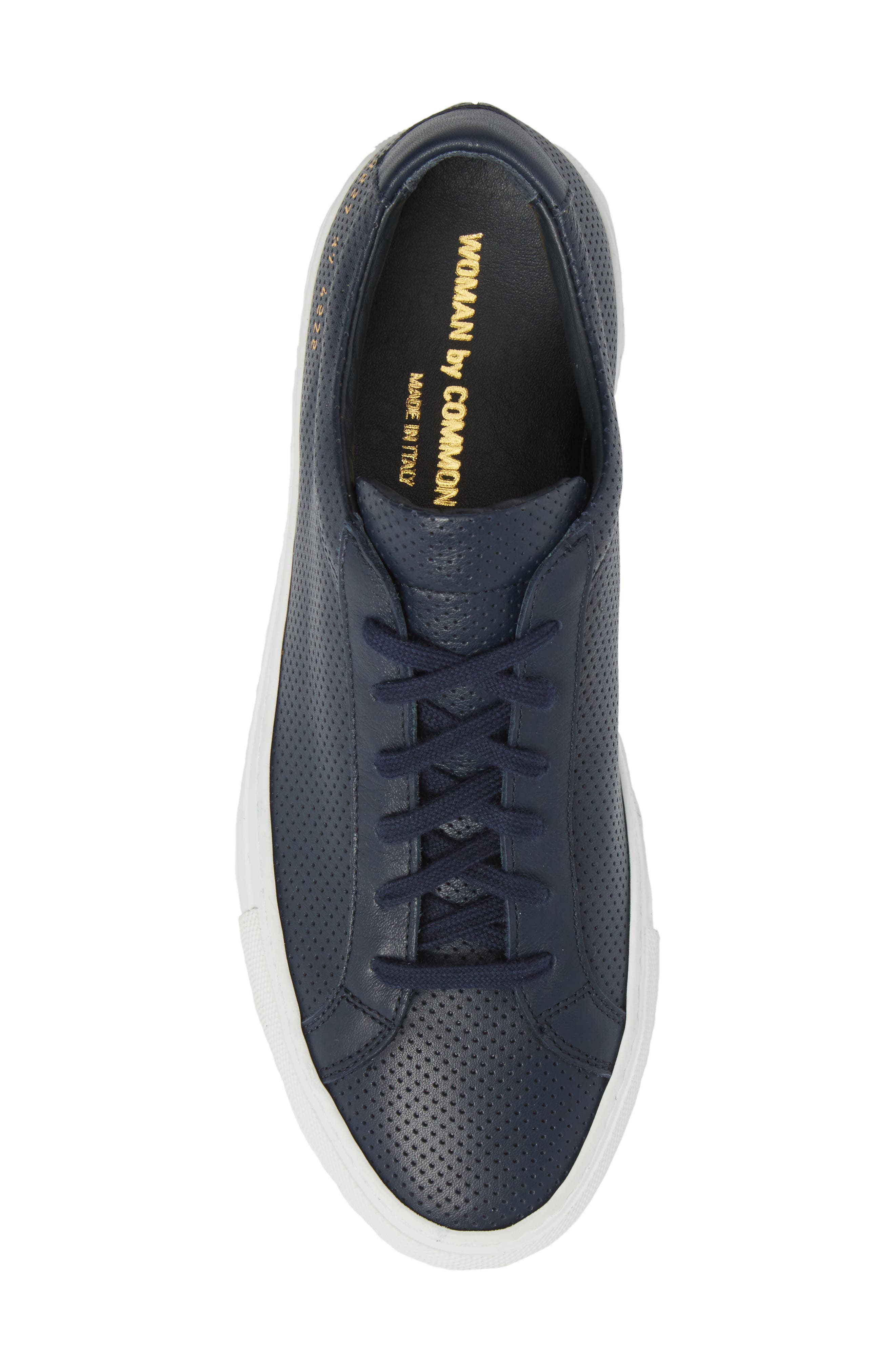 Original Achilles Perforated Low Sneaker,                             Alternate thumbnail 5, color,                             Navy
