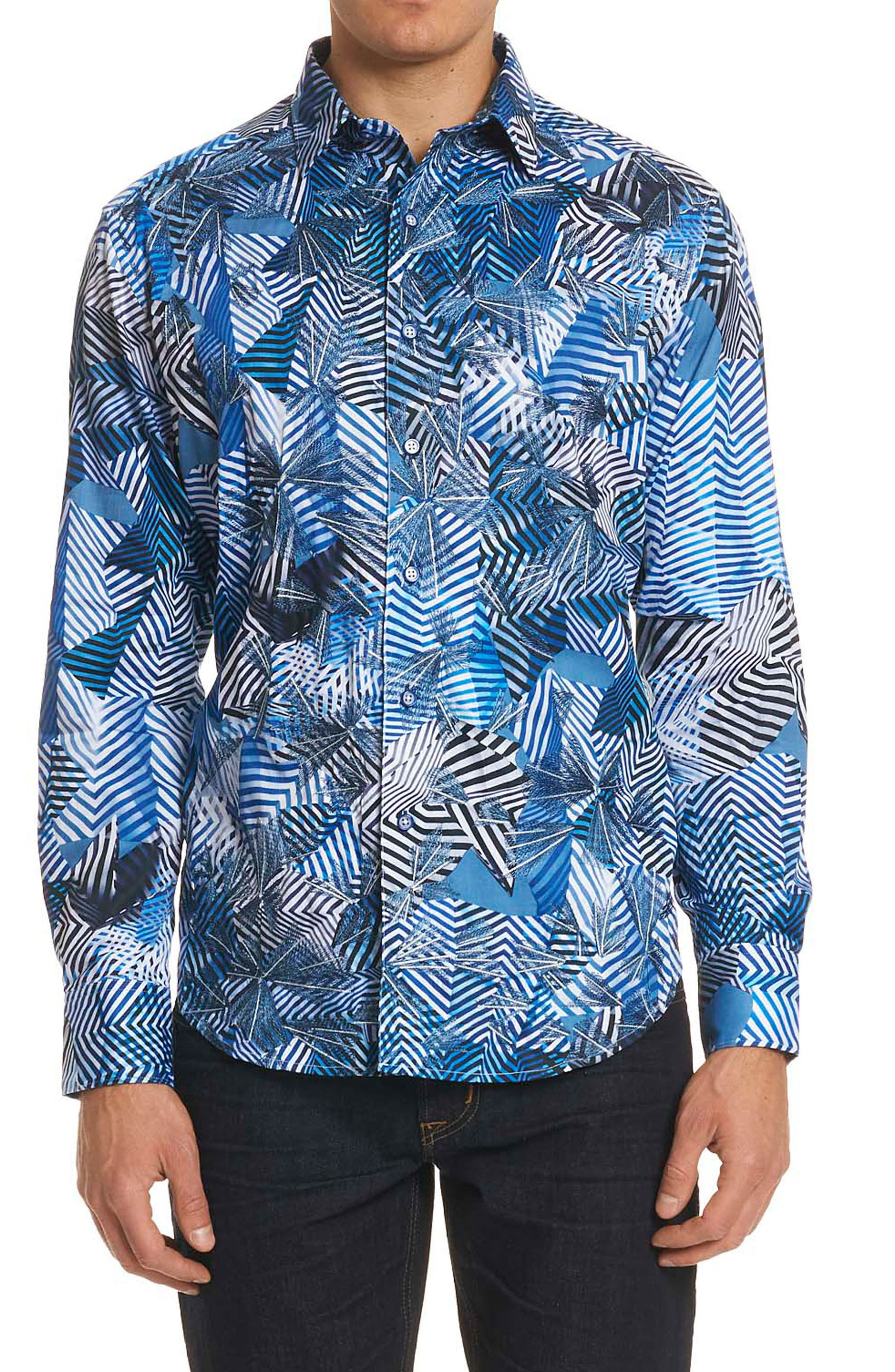 Robert Graham Santos Classic Fit Sport Shirt