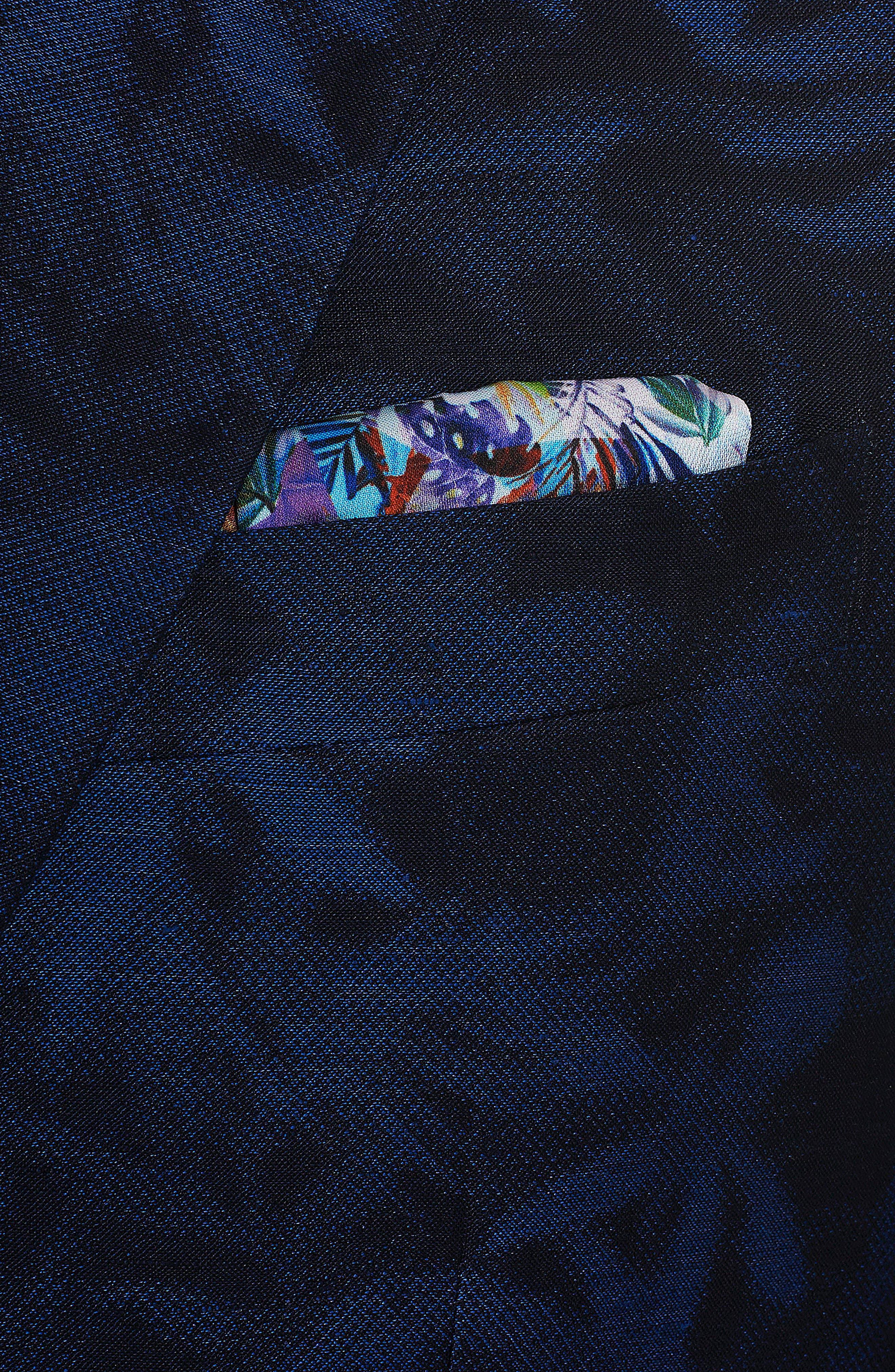 Buxons Linen & Cotton Sport Coat,                             Alternate thumbnail 5, color,                             Blue