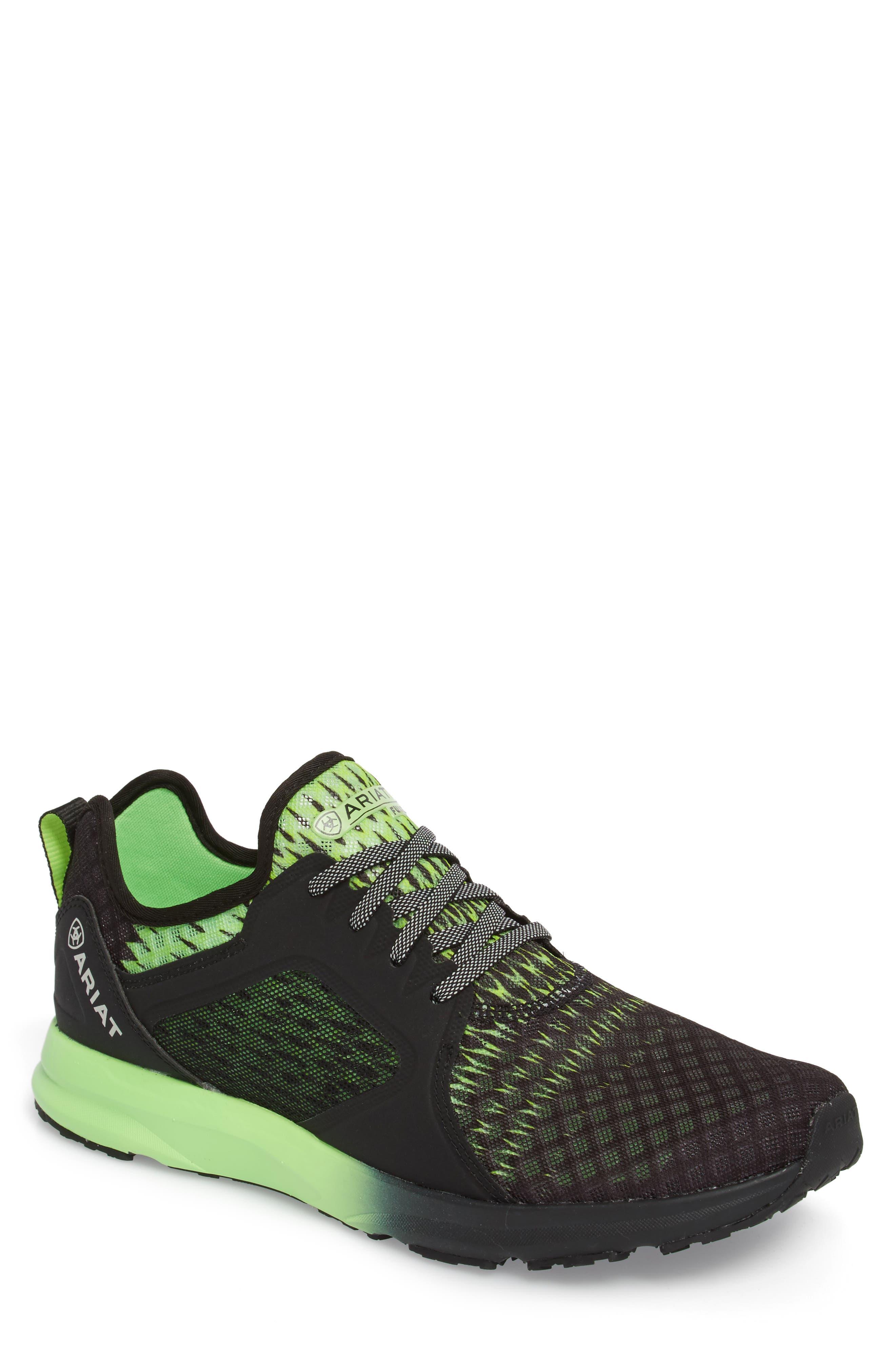 Fuse Ombré Sneaker,                             Main thumbnail 1, color,                             Black Ombre