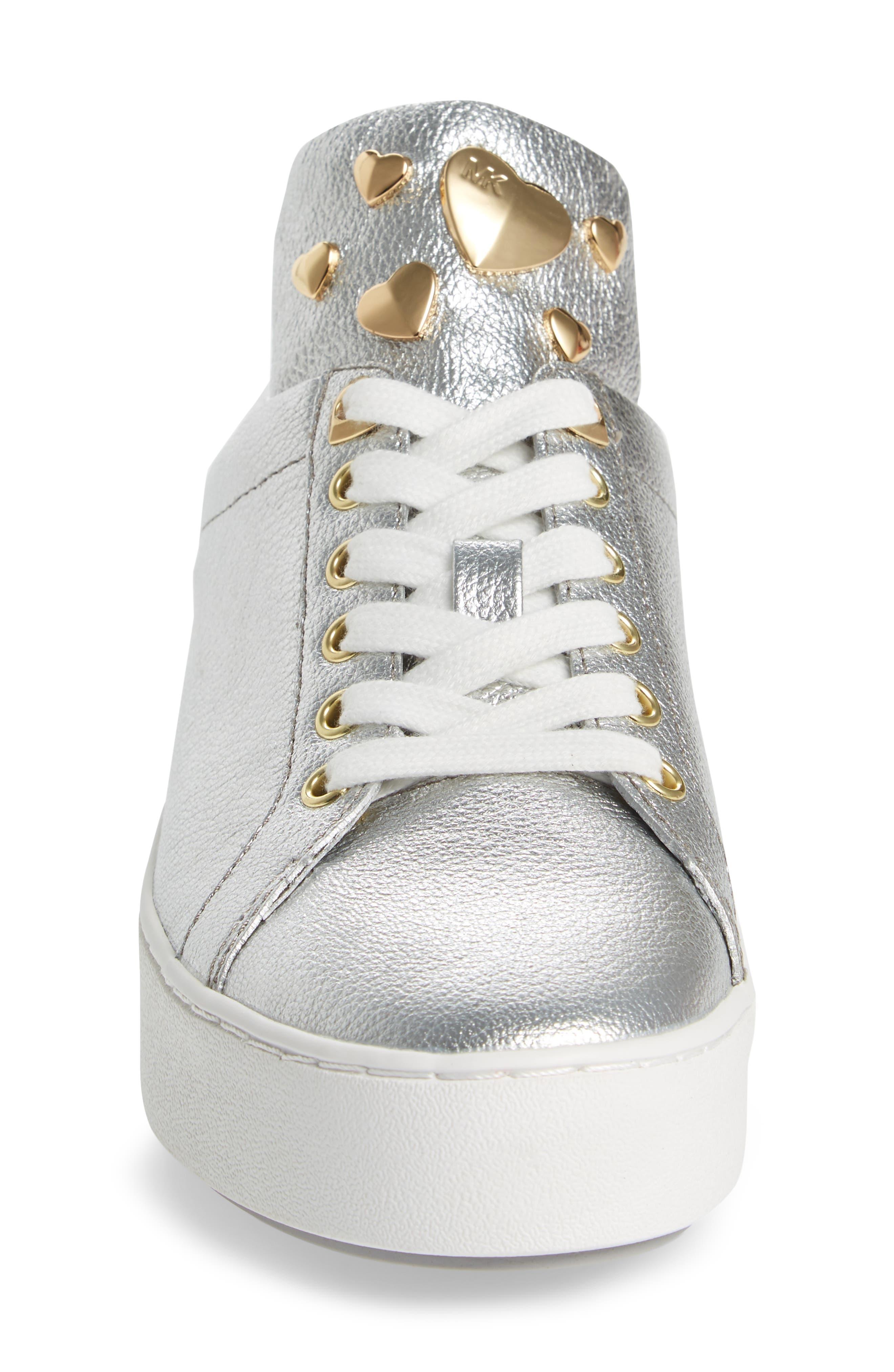 Alternate Image 4  - MICHAEL Michael Kors Mindy Platform Sneaker (Women)