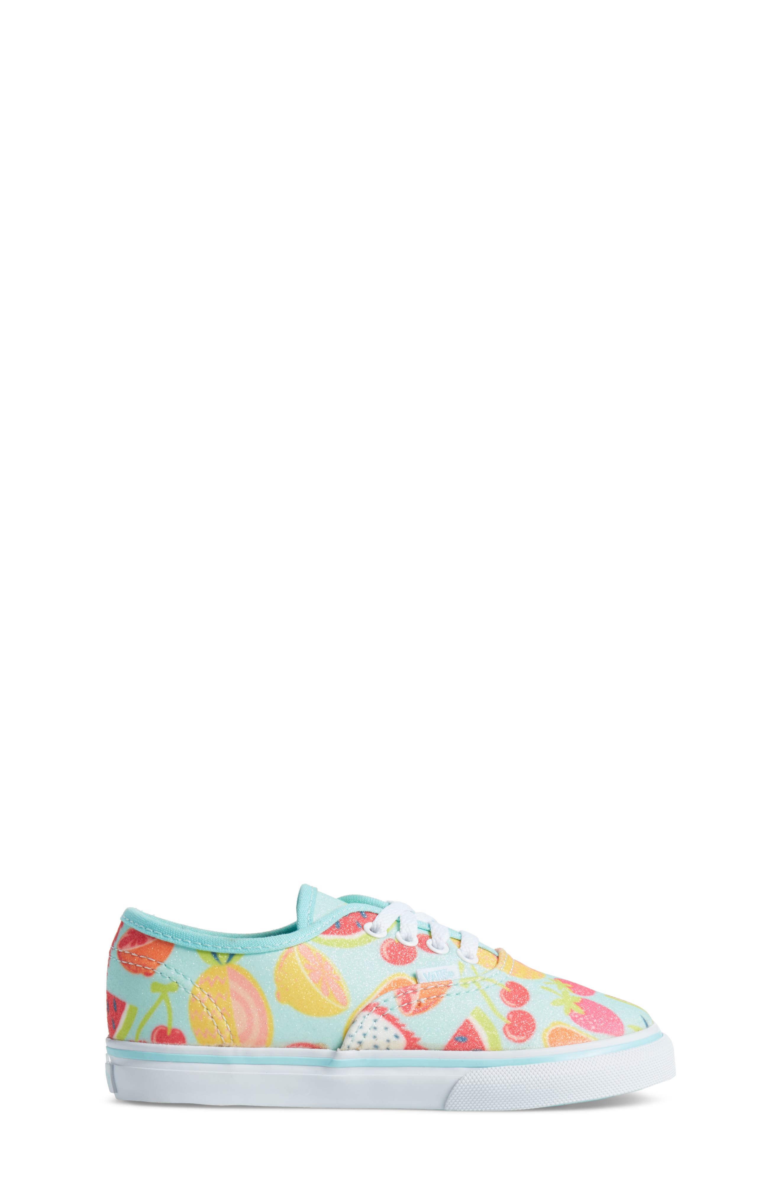 Authentic Glitter Fruits Sneaker,                             Alternate thumbnail 3, color,                             Island Paradise/ Glitter Fruit