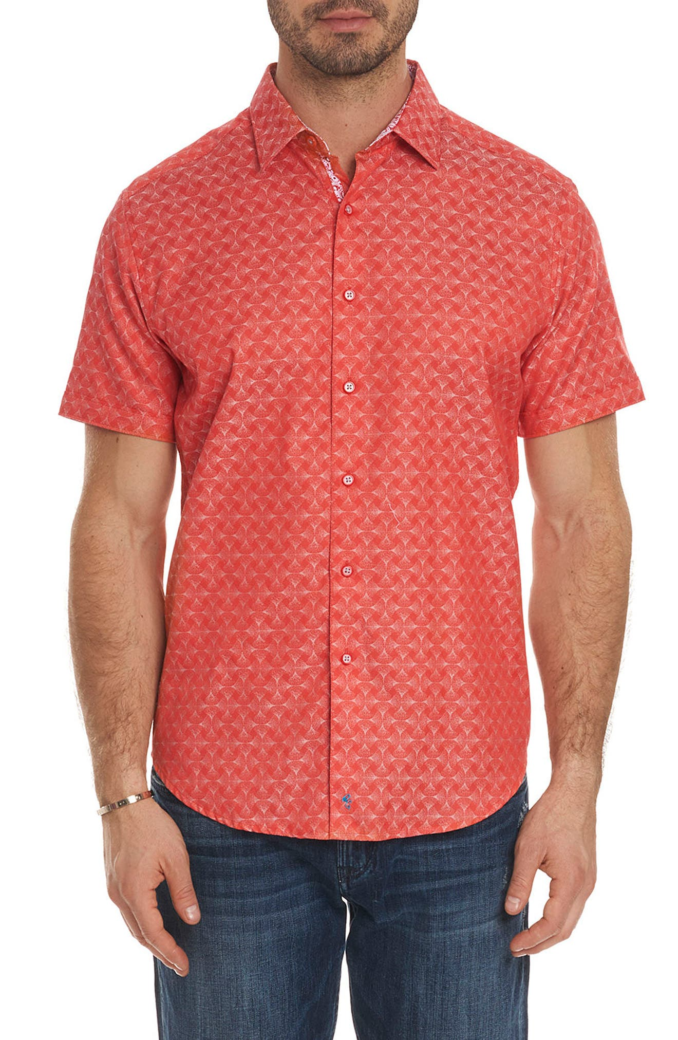 Robert Graham Diamante Classic Fit Sport Shirt