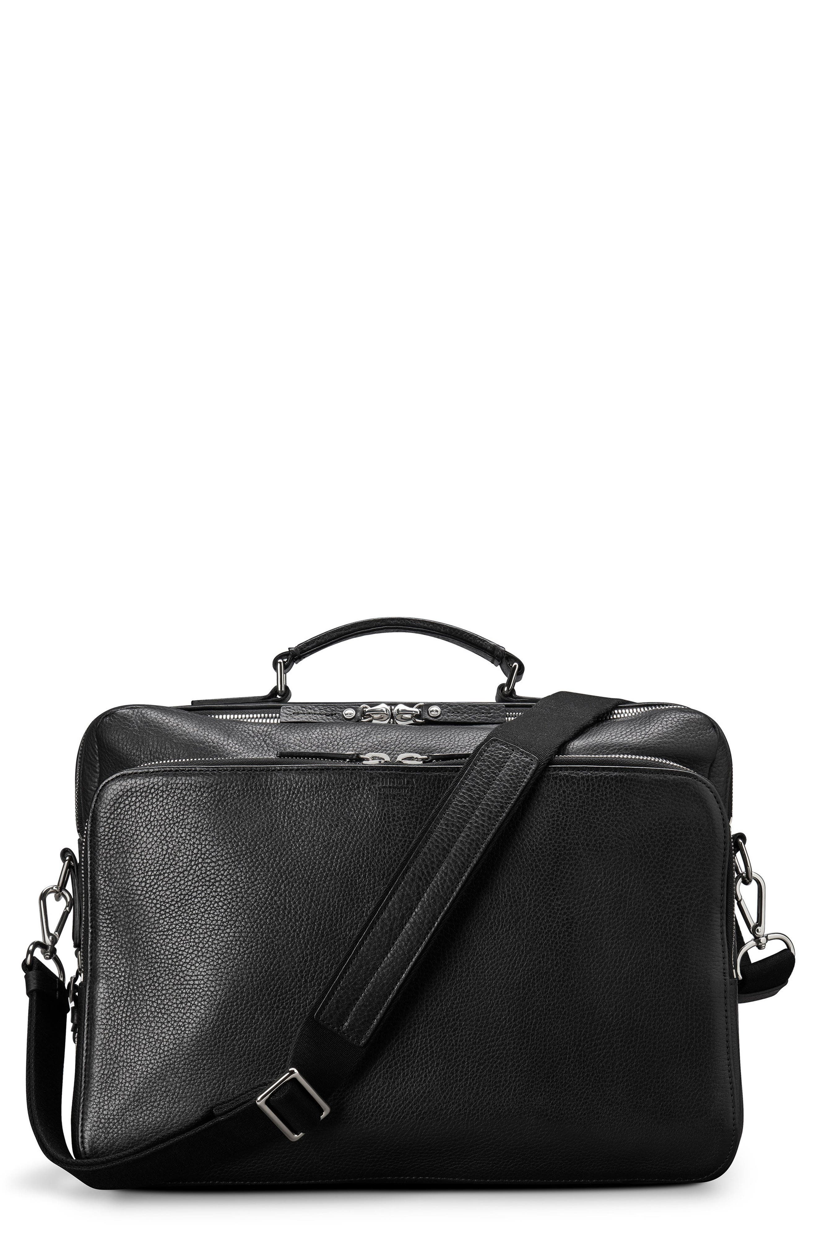 Canfield Briefcase,                             Main thumbnail 1, color,                             Black