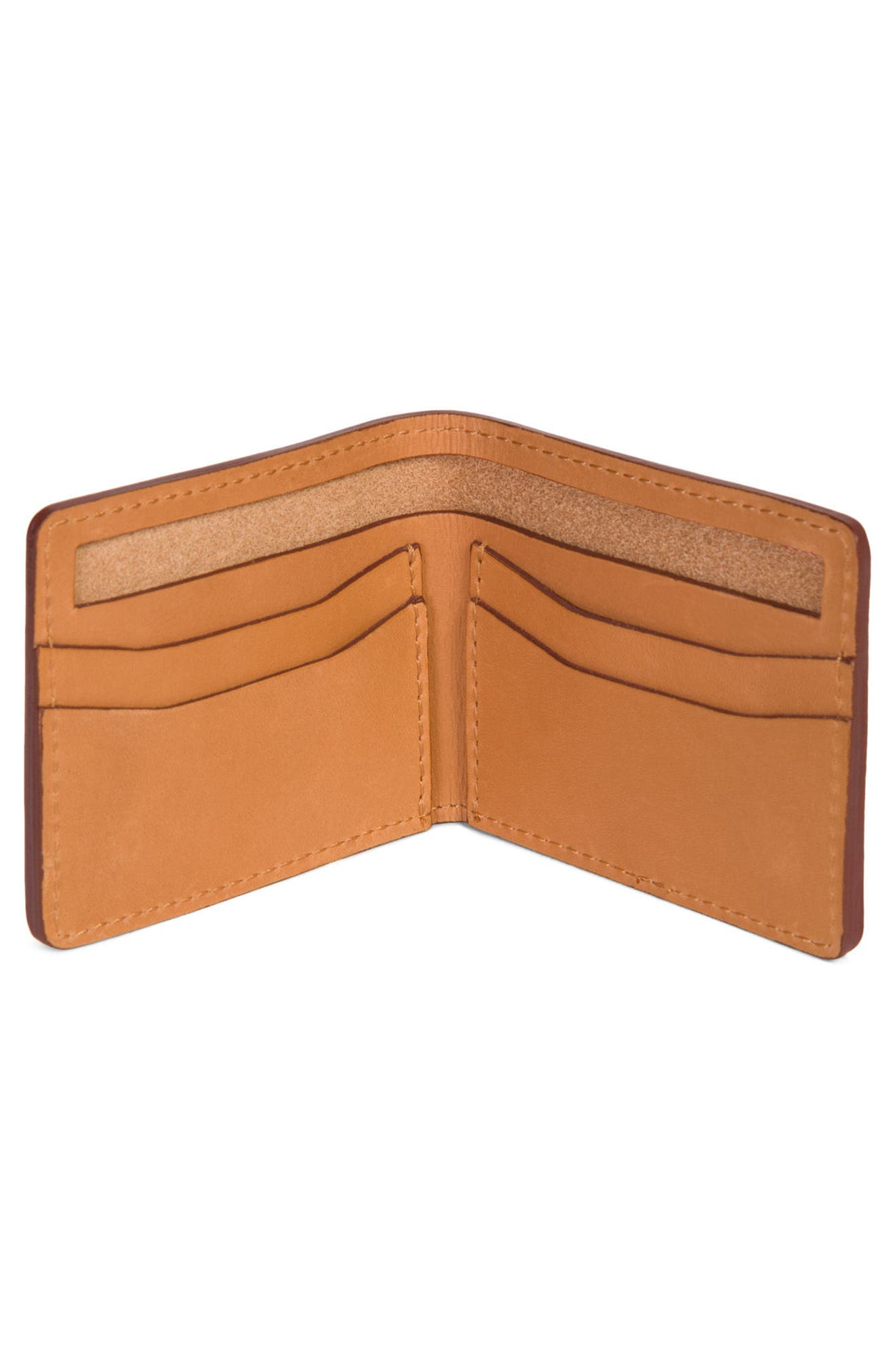 Vincent Saddle Leather Wallet,                             Alternate thumbnail 2, color,                             Tan