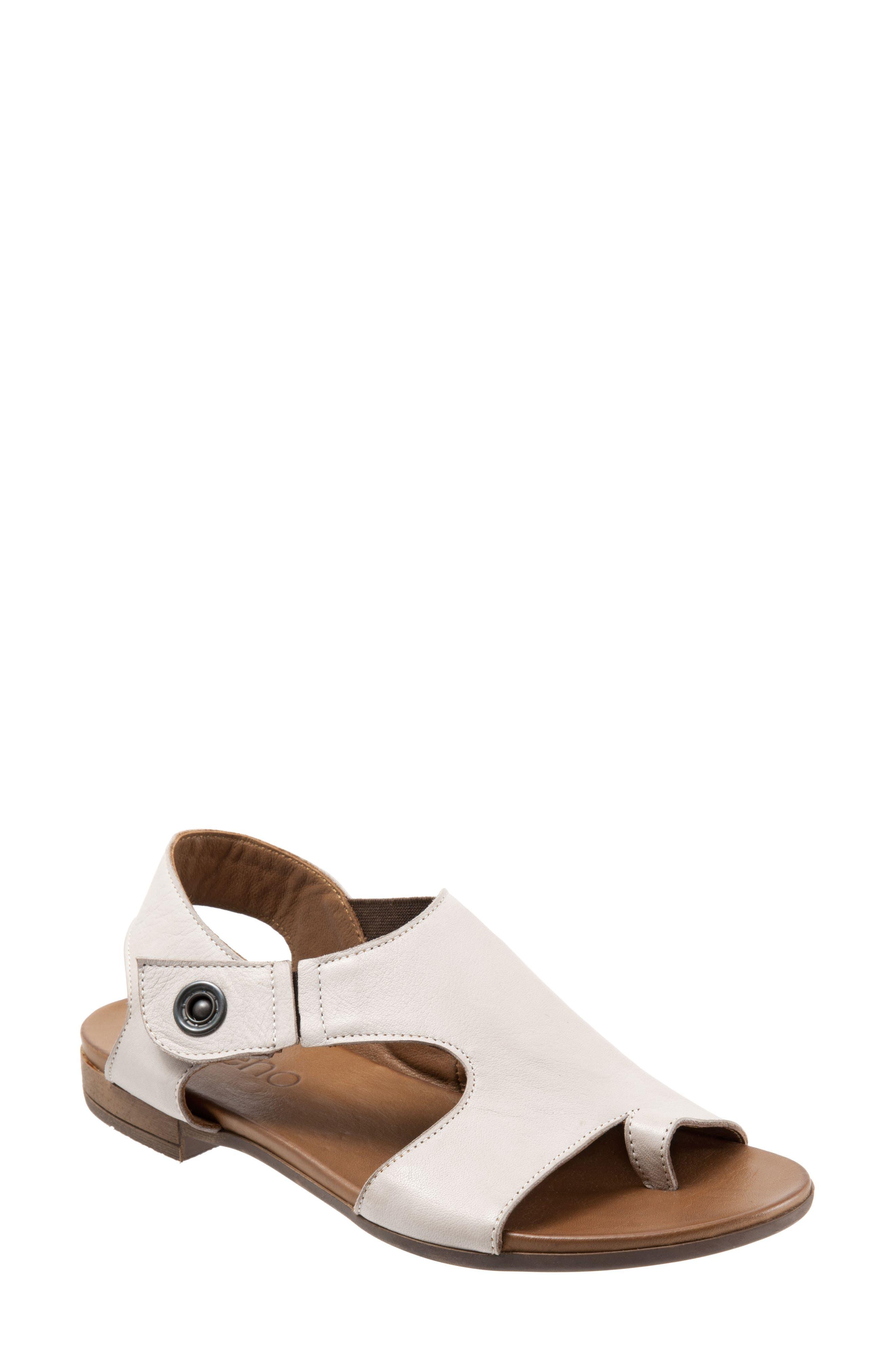 Tessa Sandal,                         Main,                         color, Light Grey Leather