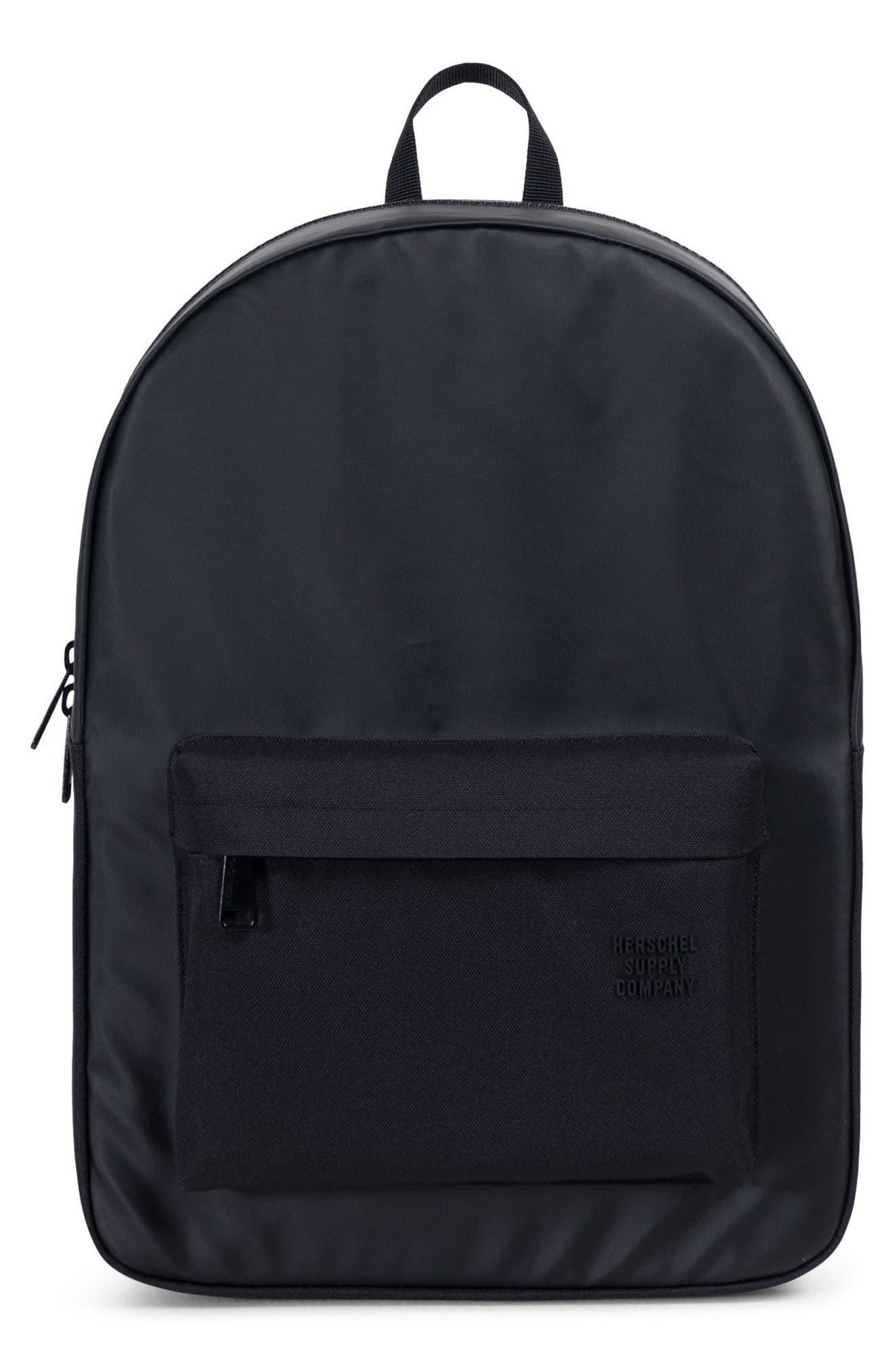 Winlaw Polycoat Studio Backpack,                             Main thumbnail 1, color,                             Black