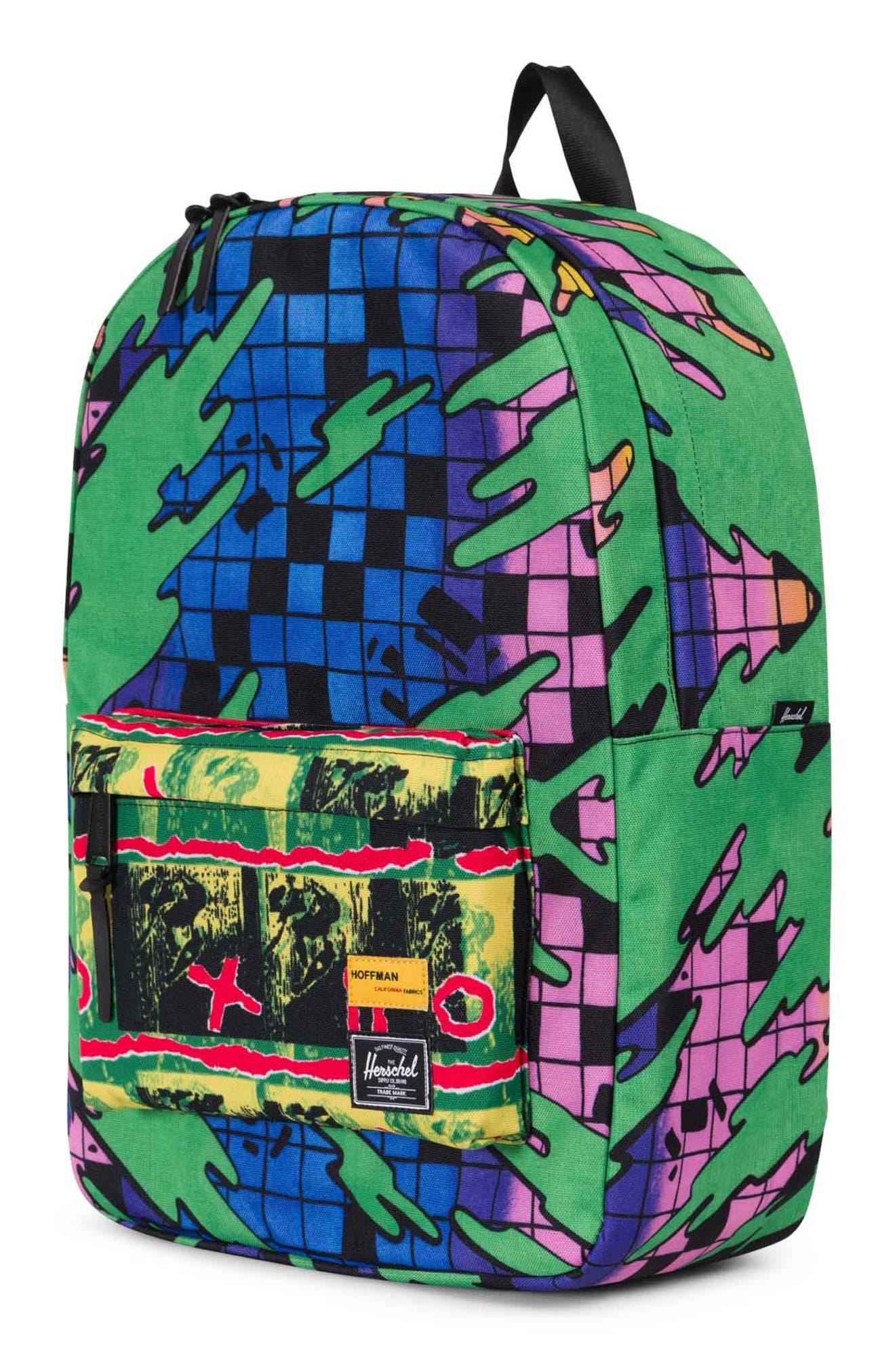 Hoffman Winlaw Backpack,                             Alternate thumbnail 4, color,                             Green