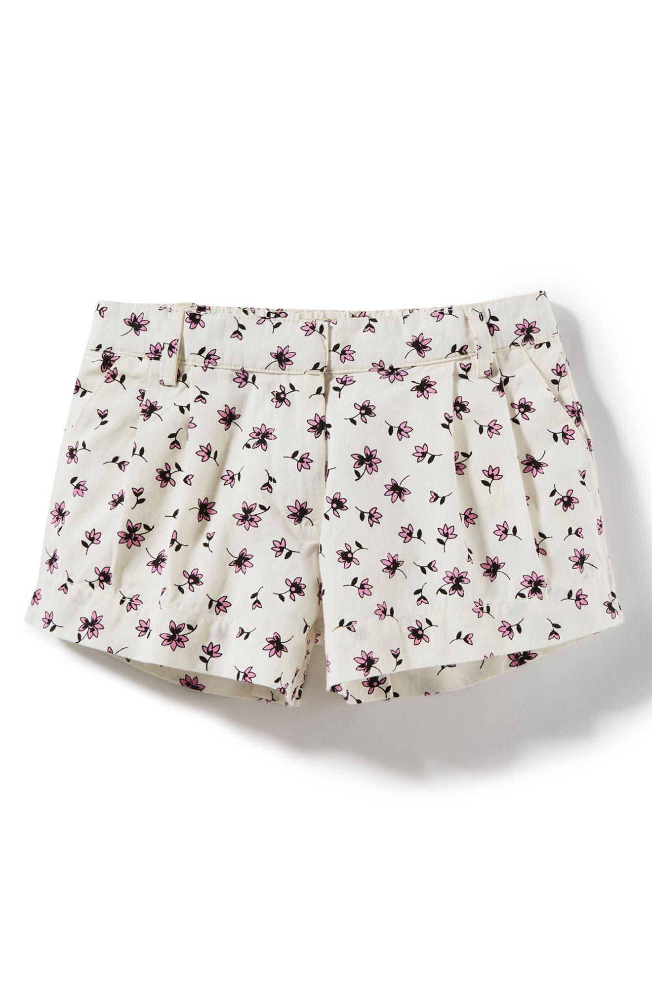 Peek Print Shorts (Toddler Girls, Little Girls & Big Girls)
