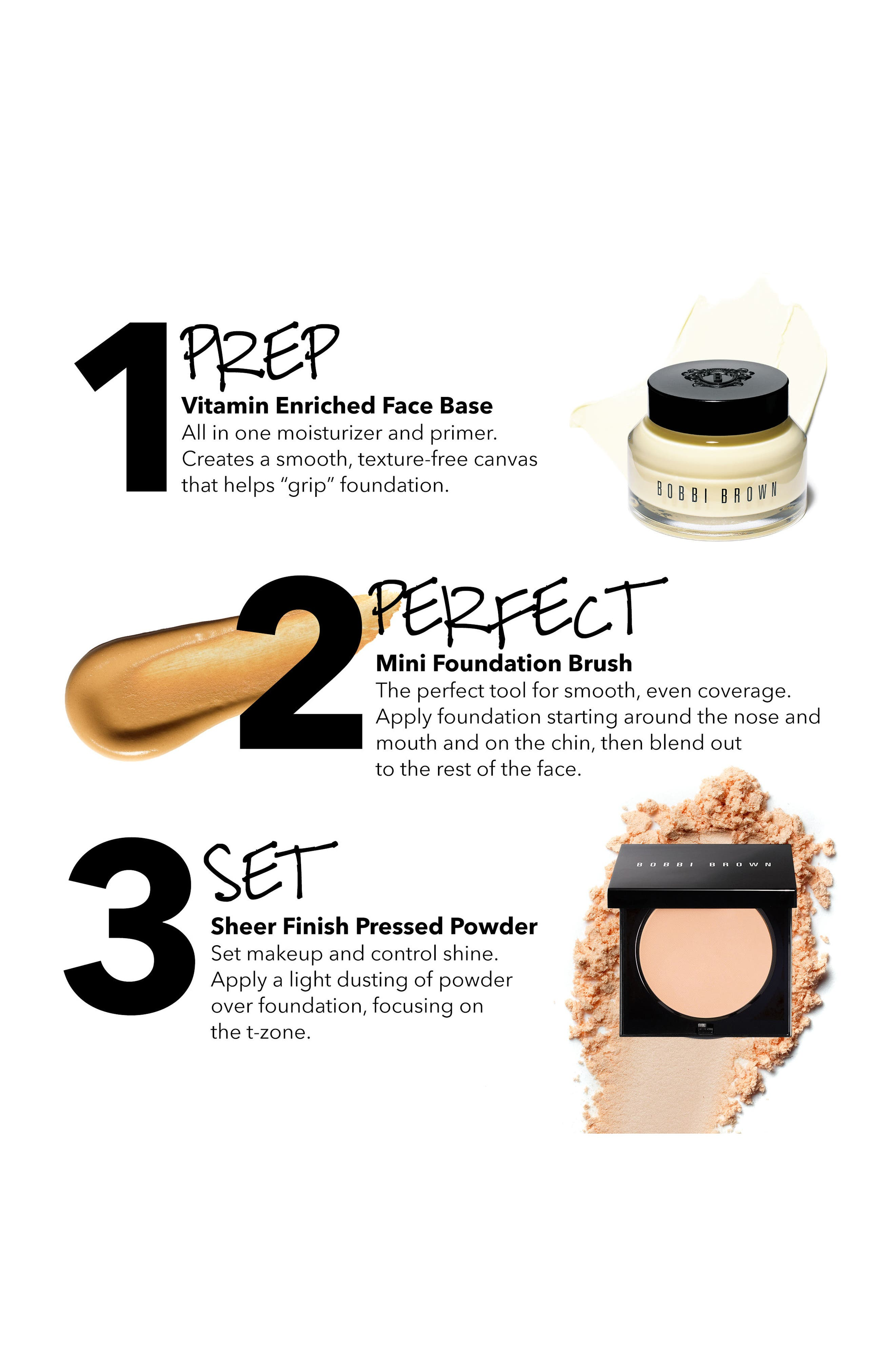 90 Second Perfect Makeup Prep Collection,                             Alternate thumbnail 2, color,                             Soft Sand