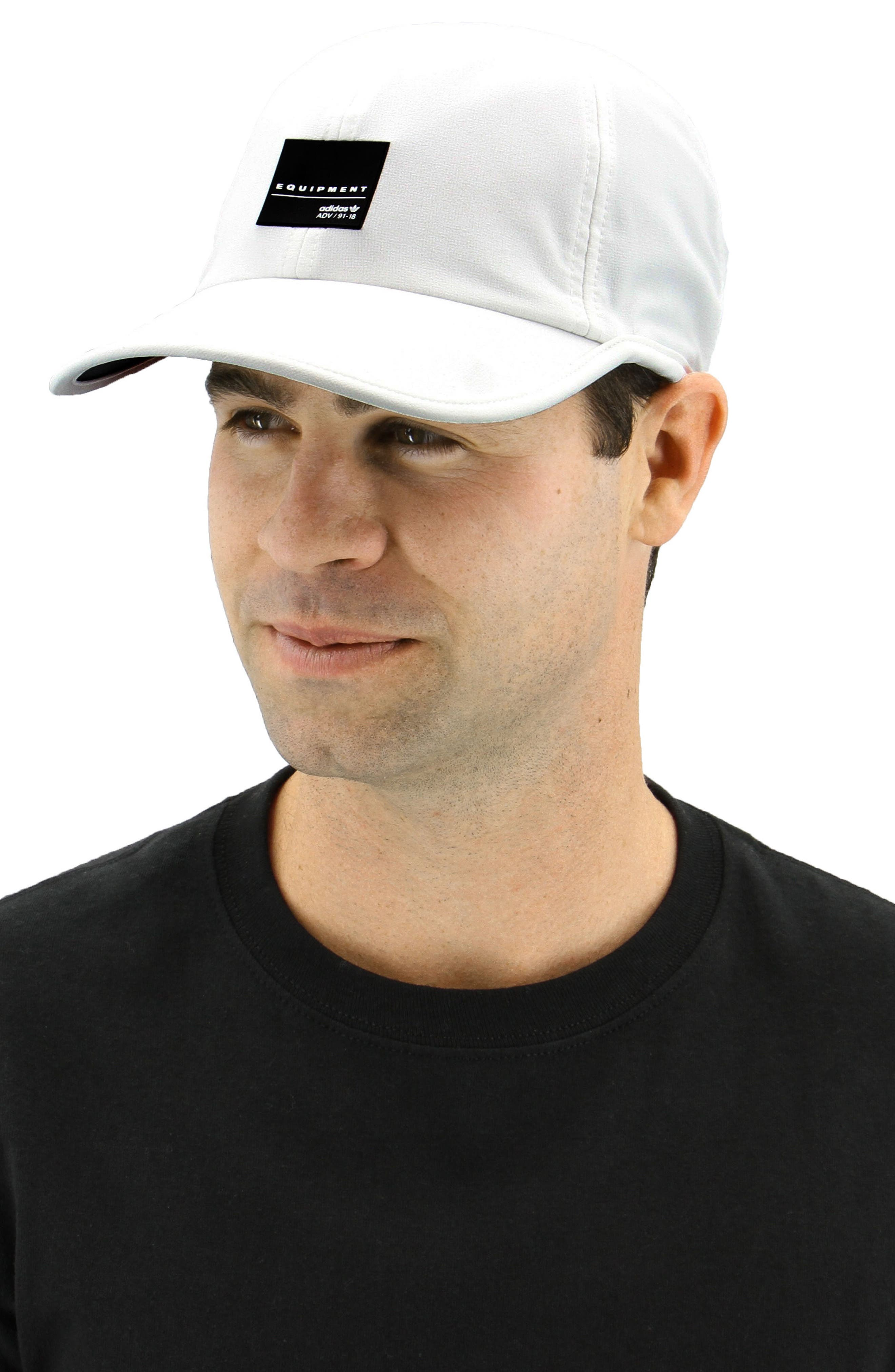 EQT Trainer Cap,                             Alternate thumbnail 2, color,                             White