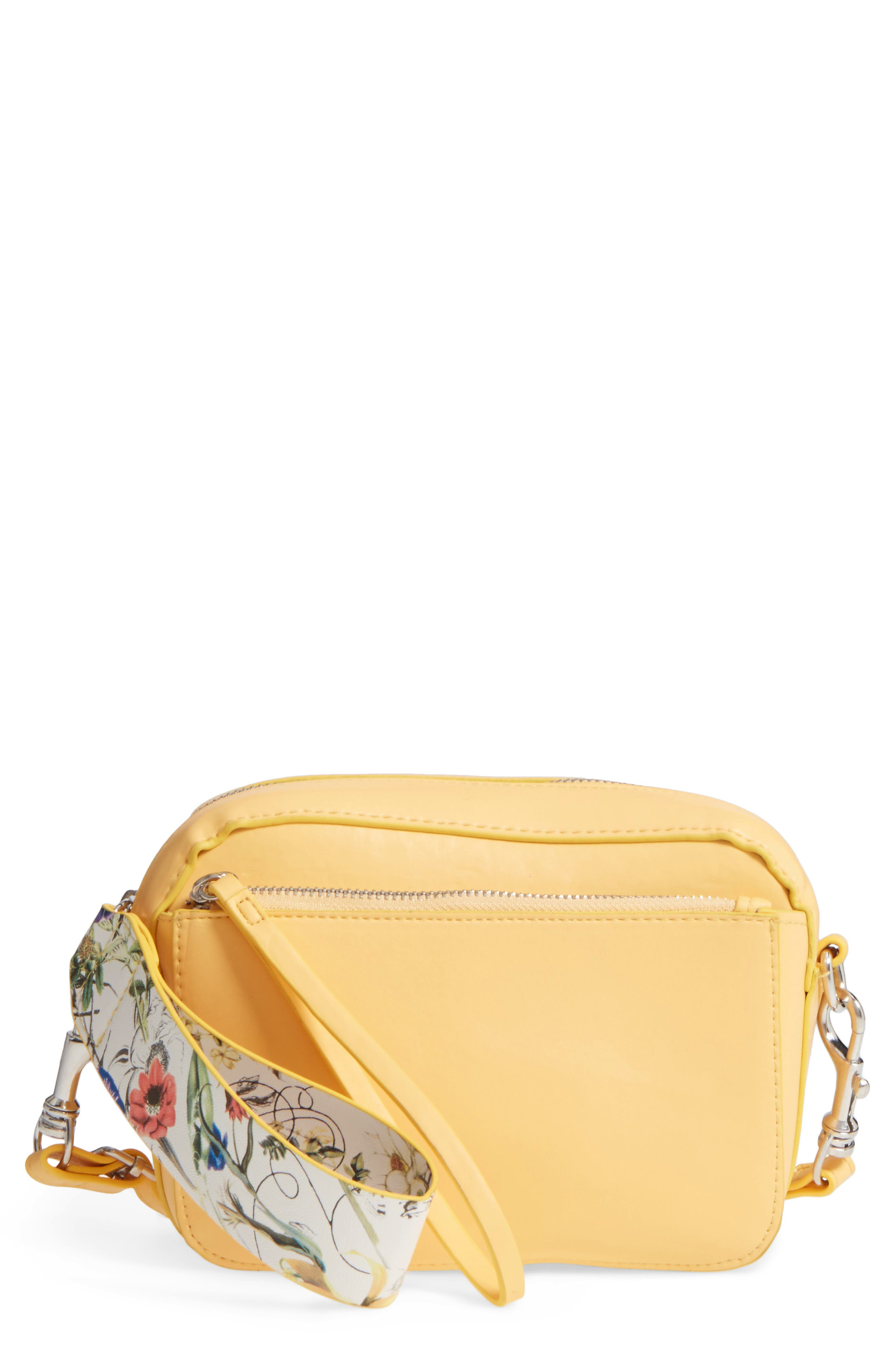 Main Image - BP. Faux Leather Crossbody Wristlet