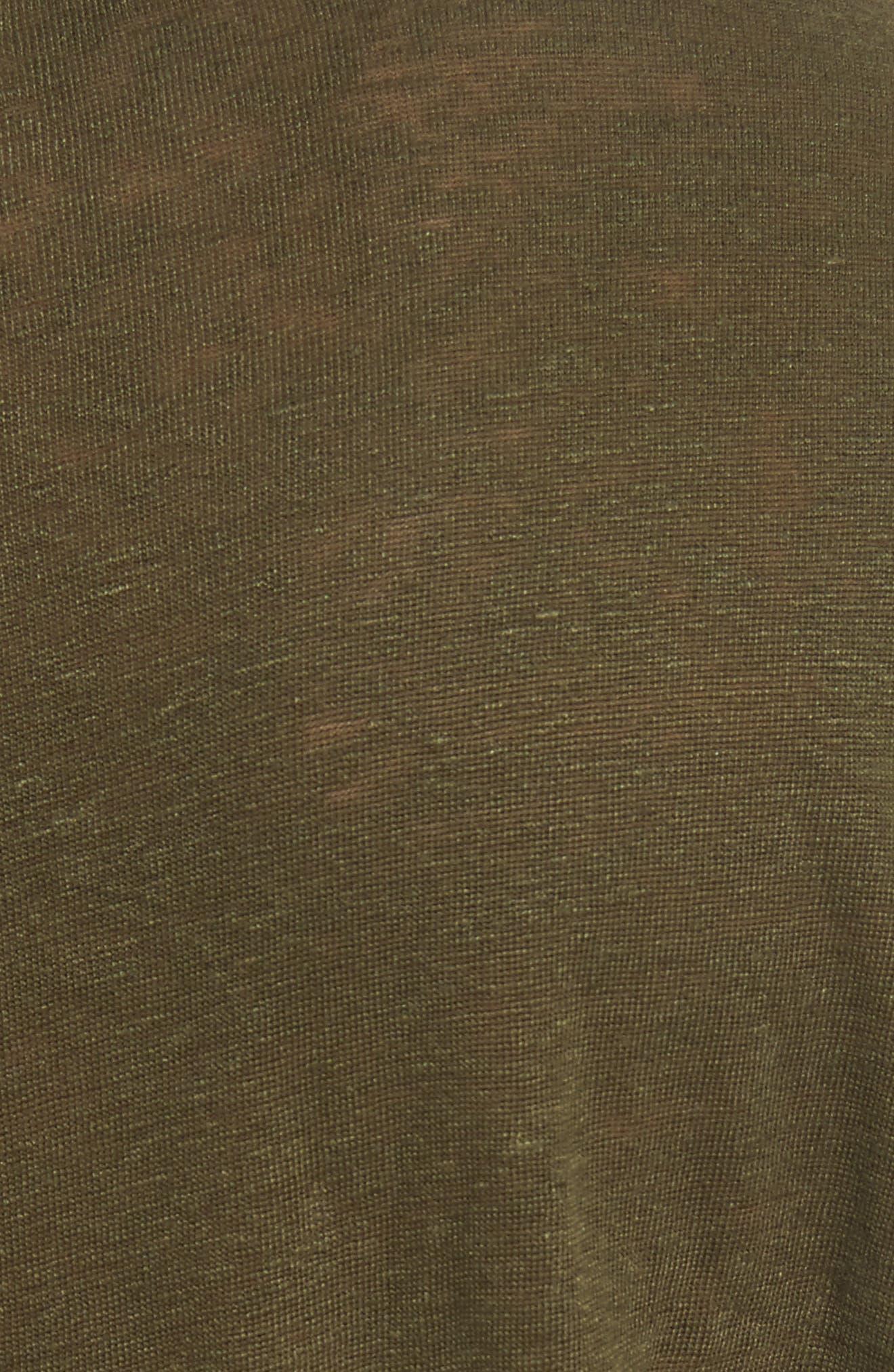 Owen Long Sleeve T-Shirt,                             Alternate thumbnail 5, color,                             Army