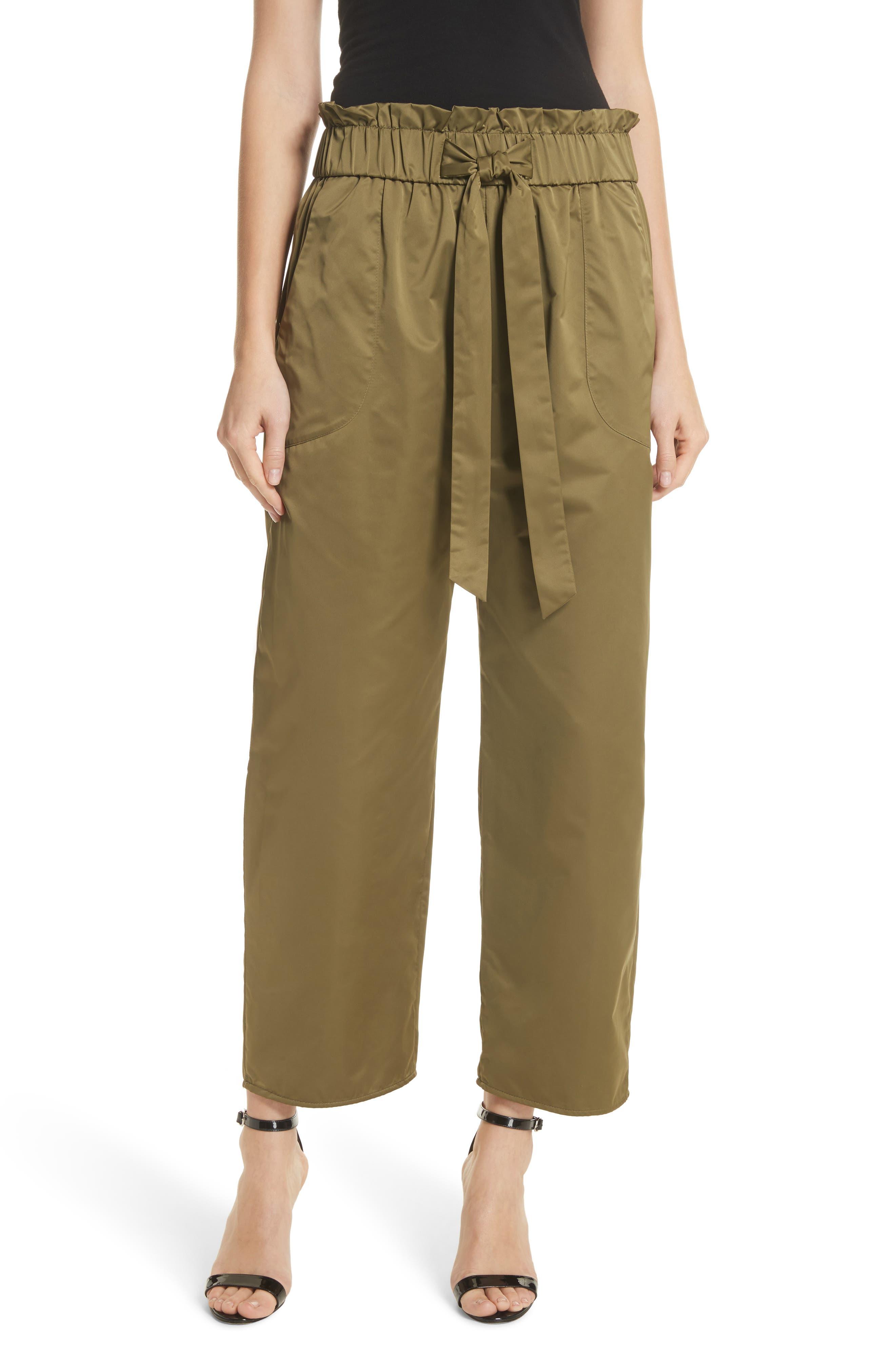 Milly Kori Paperbag Waist Pants