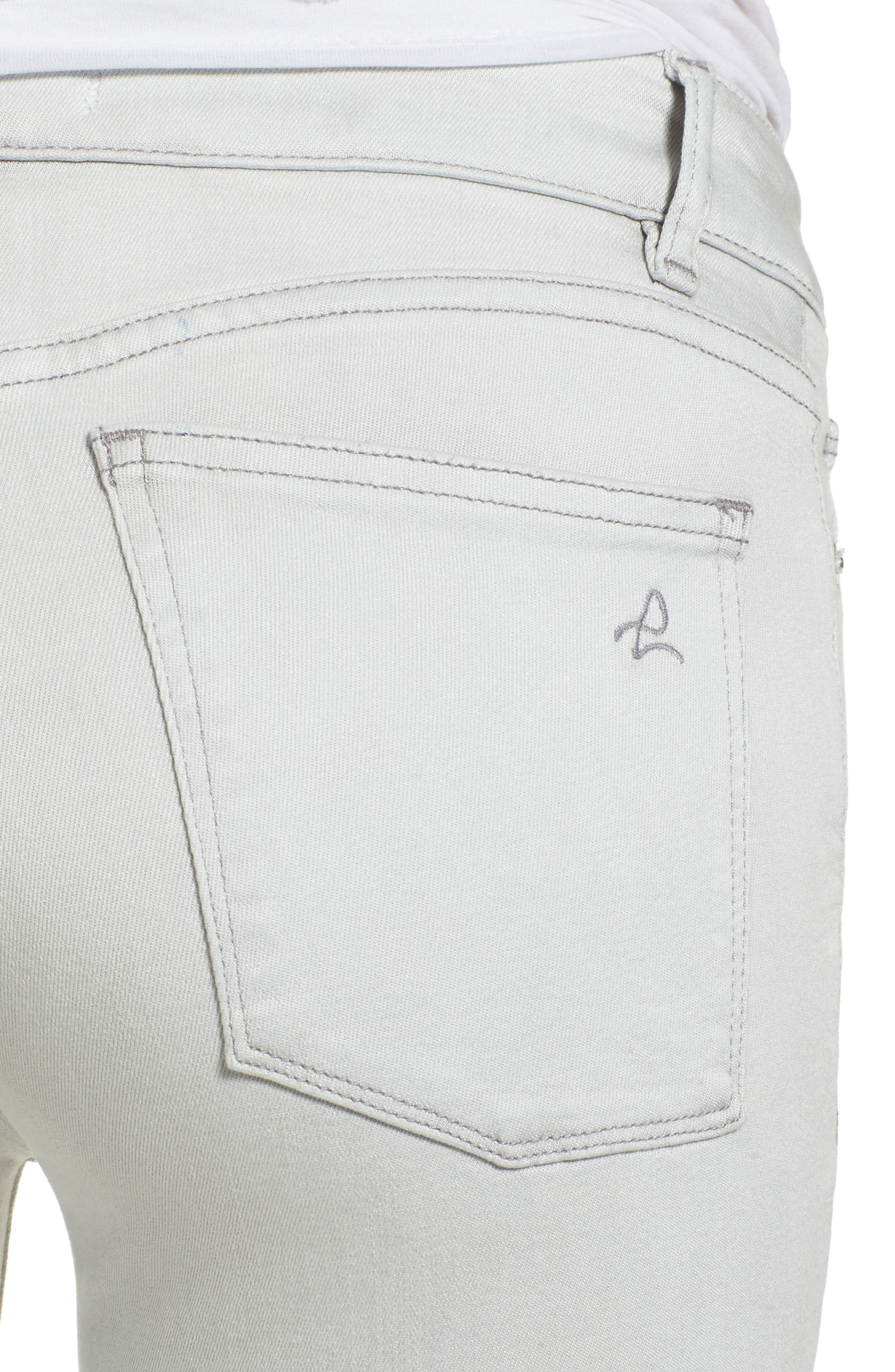 Margaux Instasculpt Ankle Skinny Jeans,                             Alternate thumbnail 4, color,                             Edge