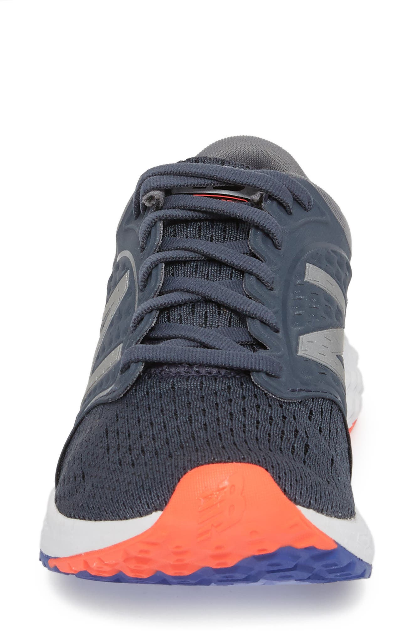 Fresh Foam Zante v4 Running Shoe,                             Alternate thumbnail 4, color,                             Light Grey