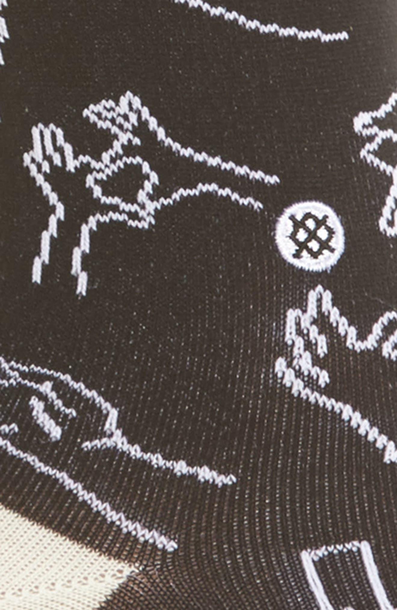 Hand It Over Crew Socks,                             Alternate thumbnail 2, color,                             White