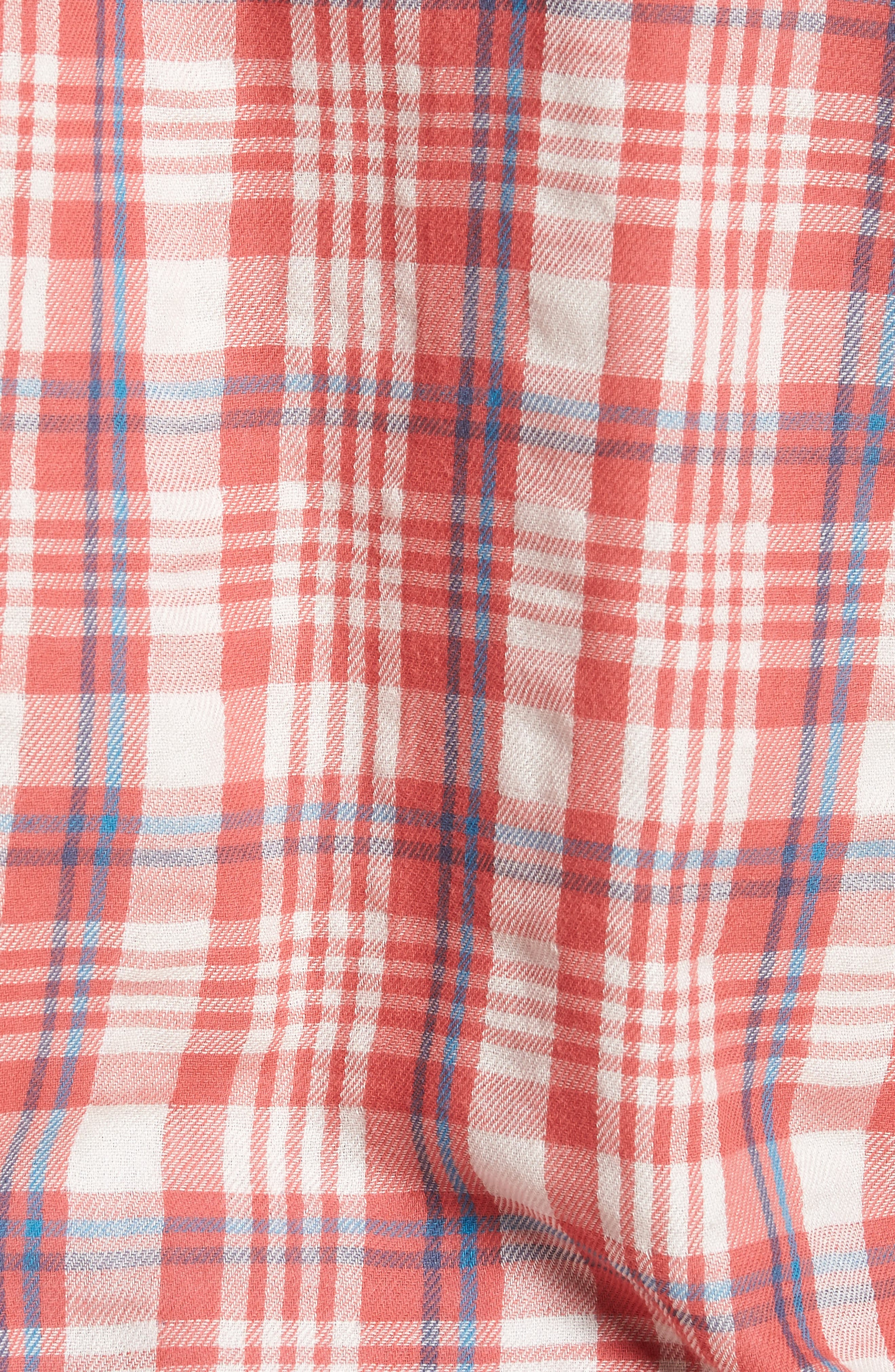 Alternate Image 5  - Grayers Barnard Slim Fit Plaid Sport Shirt