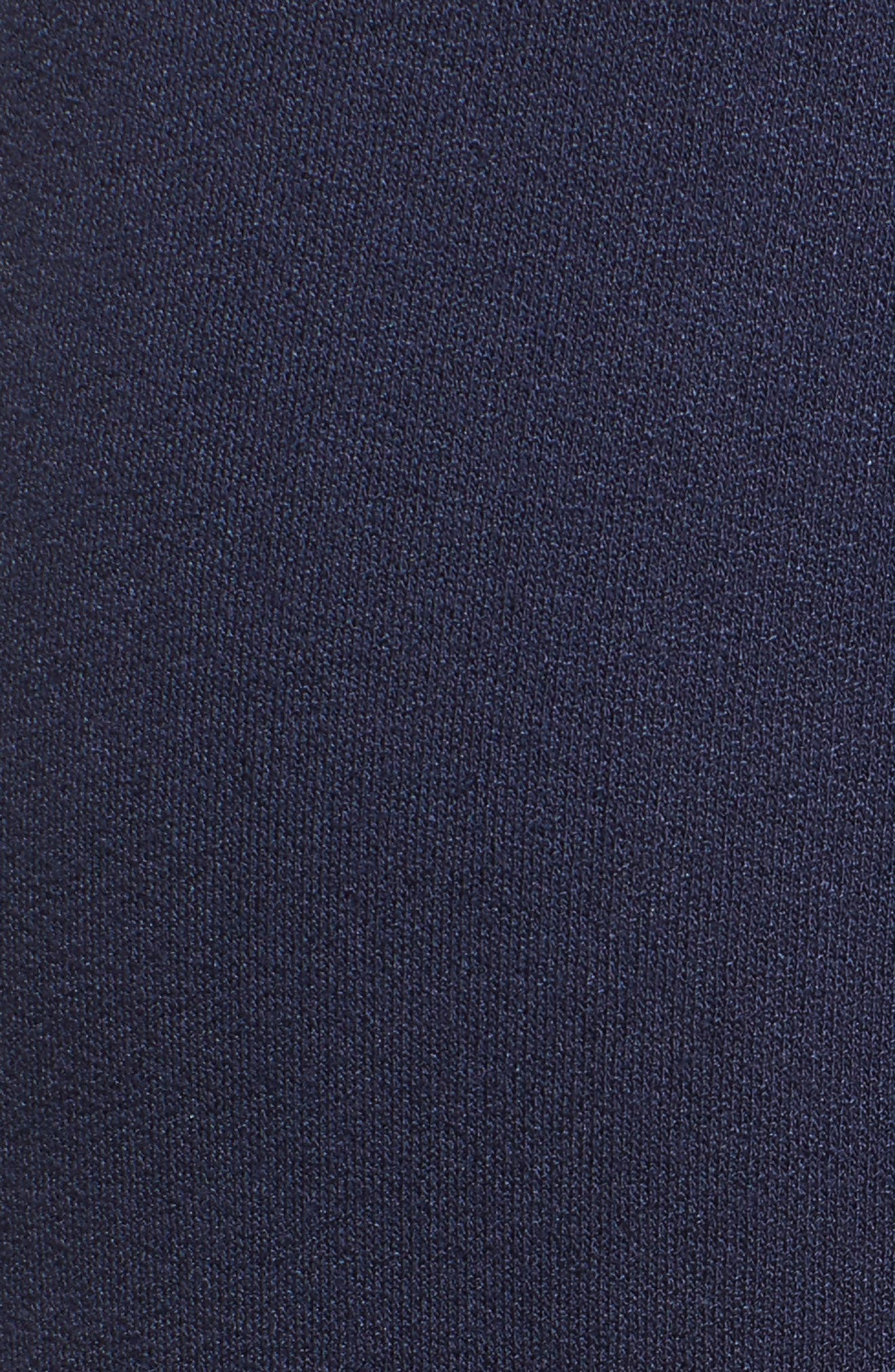 Knit Tulip Hem Pants,                             Alternate thumbnail 5, color,                             Navy Peacoat