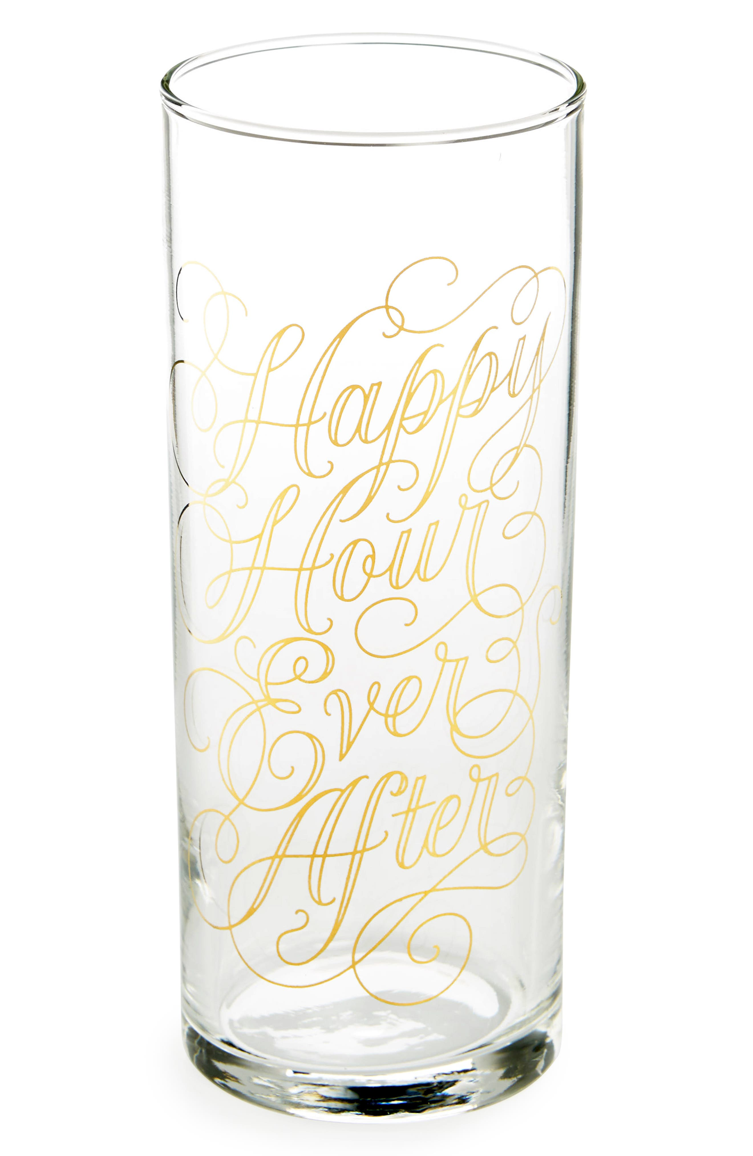 Easy, Tiger Happy Hour Ever After Highball Glass
