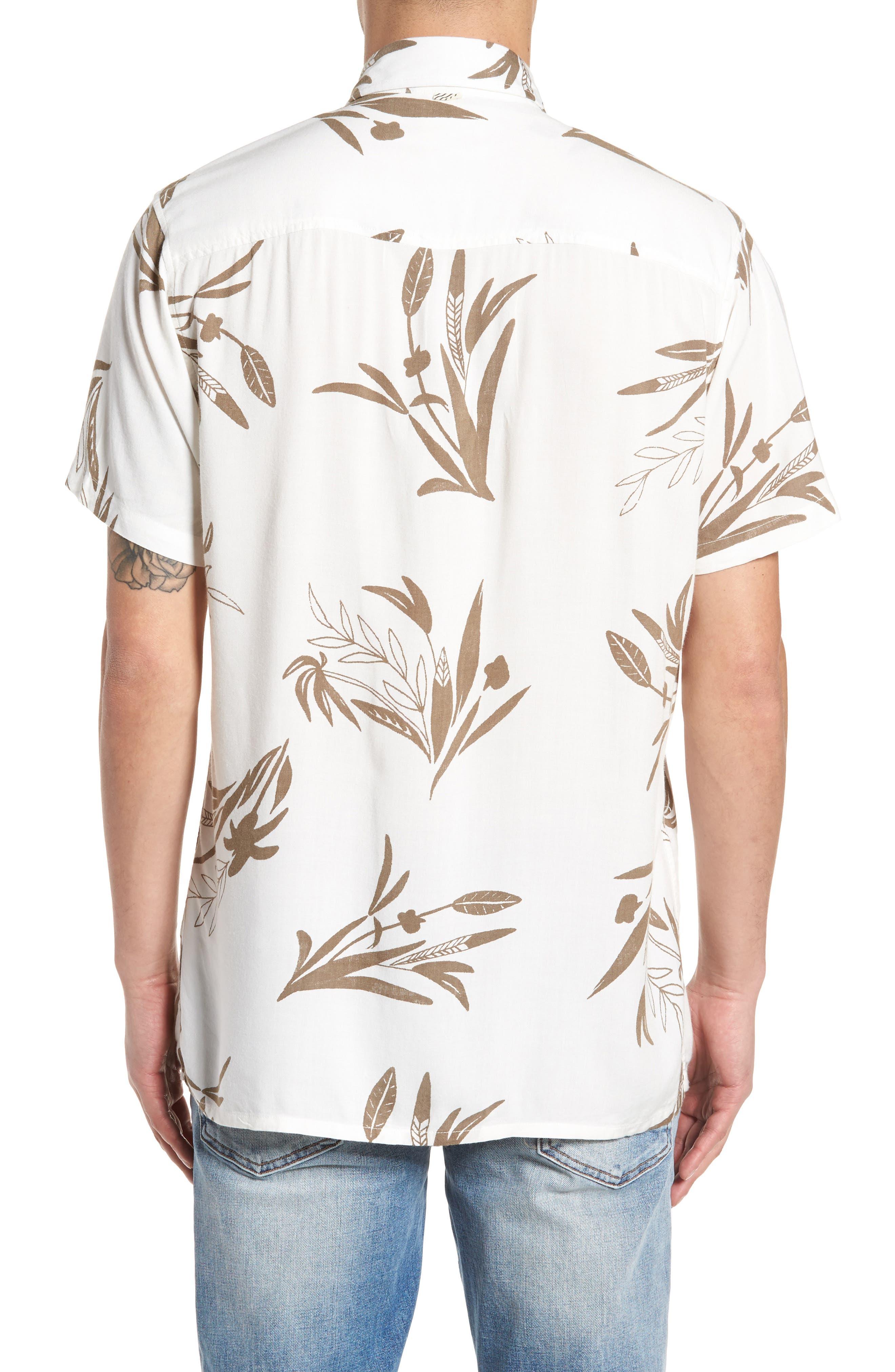 Simmer Short Sleeve Shirt,                             Alternate thumbnail 2, color,                             Vintage White