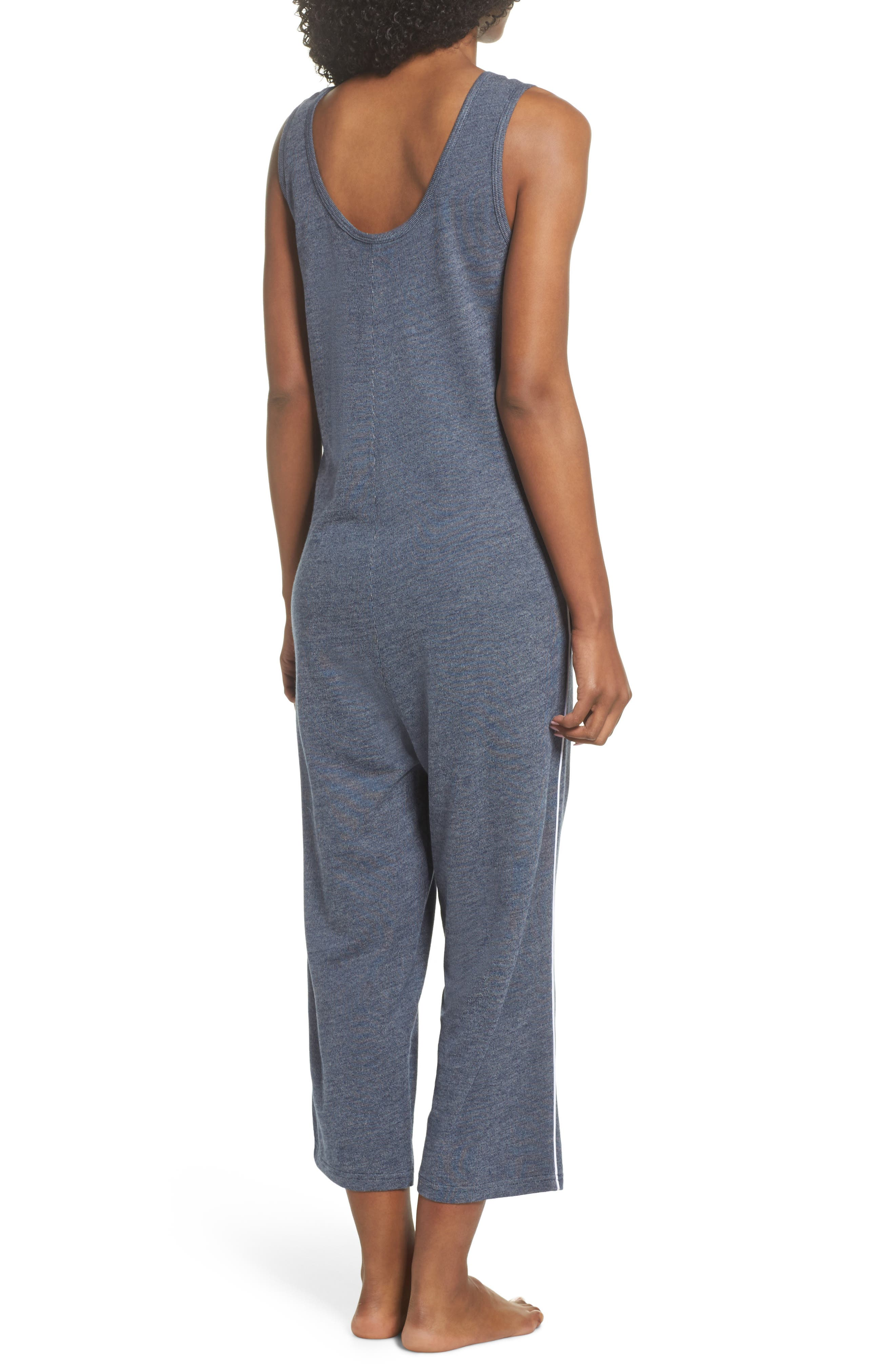 Harriet Lounge Jumpsuit,                             Alternate thumbnail 2, color,                             Midnight Marle