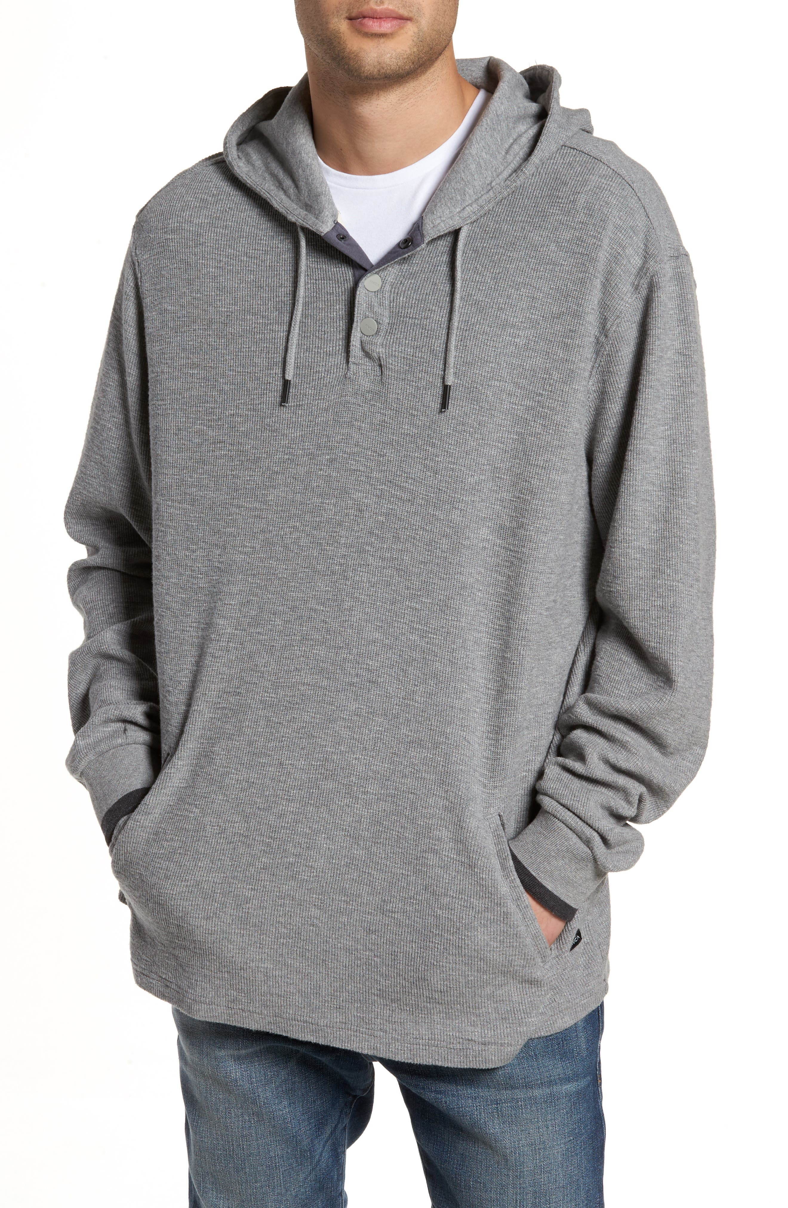 Rvca  COPA HOODED HENLEY PULLOVER
