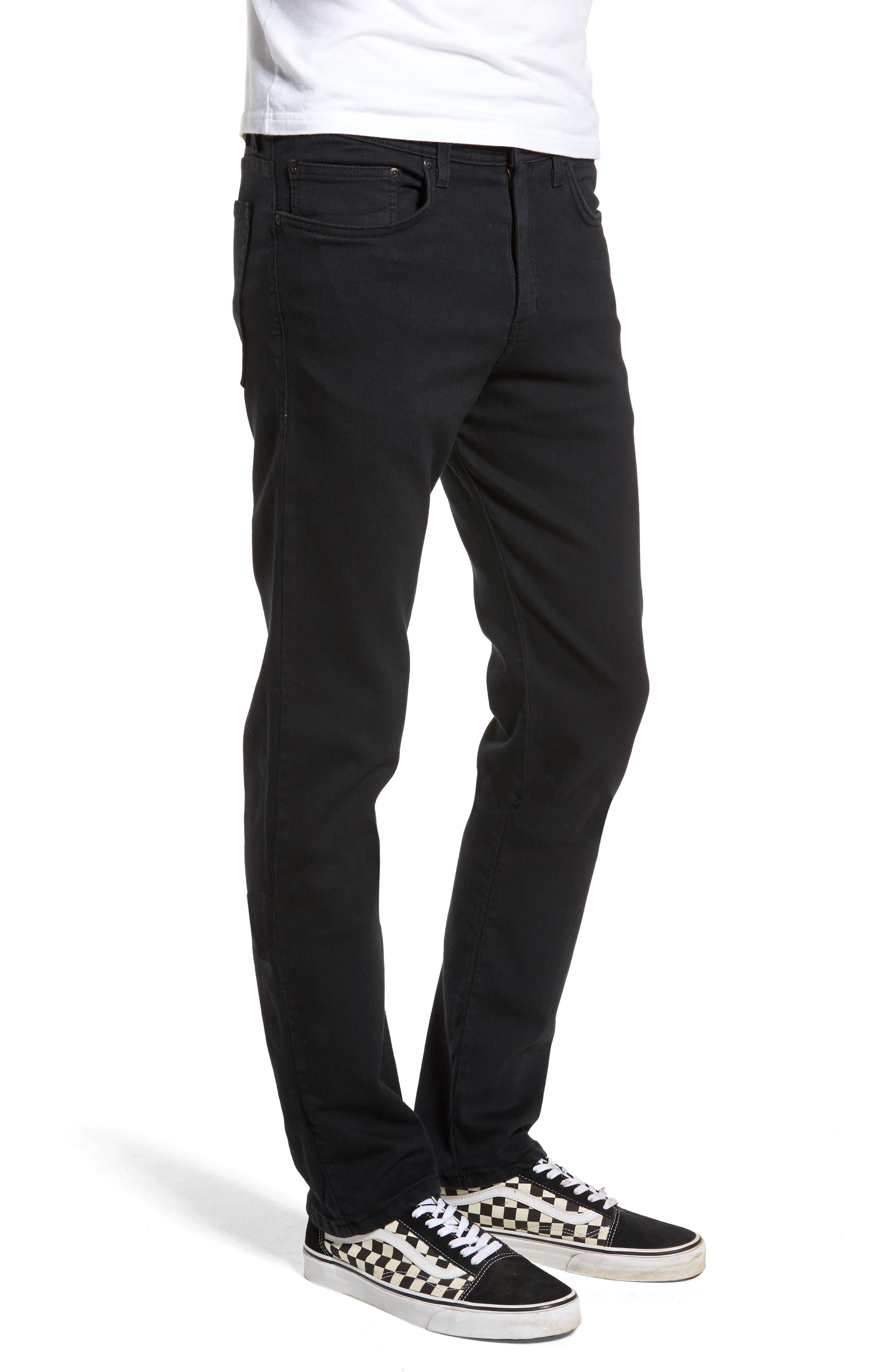 Weird Guy Slim Fit Jeans,                             Alternate thumbnail 3, color,                             Black