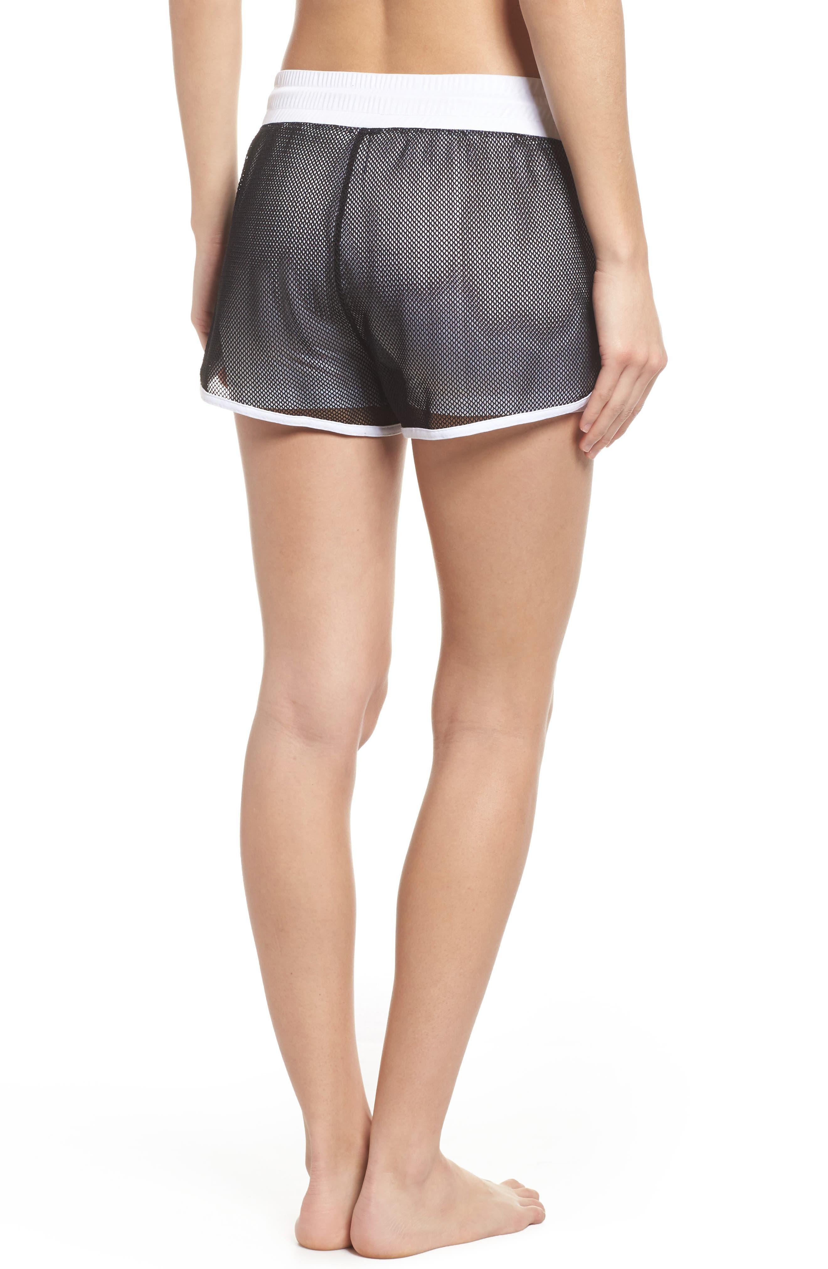 Mesh 2-in-1 Mesh Shorts,                             Alternate thumbnail 2, color,                             White