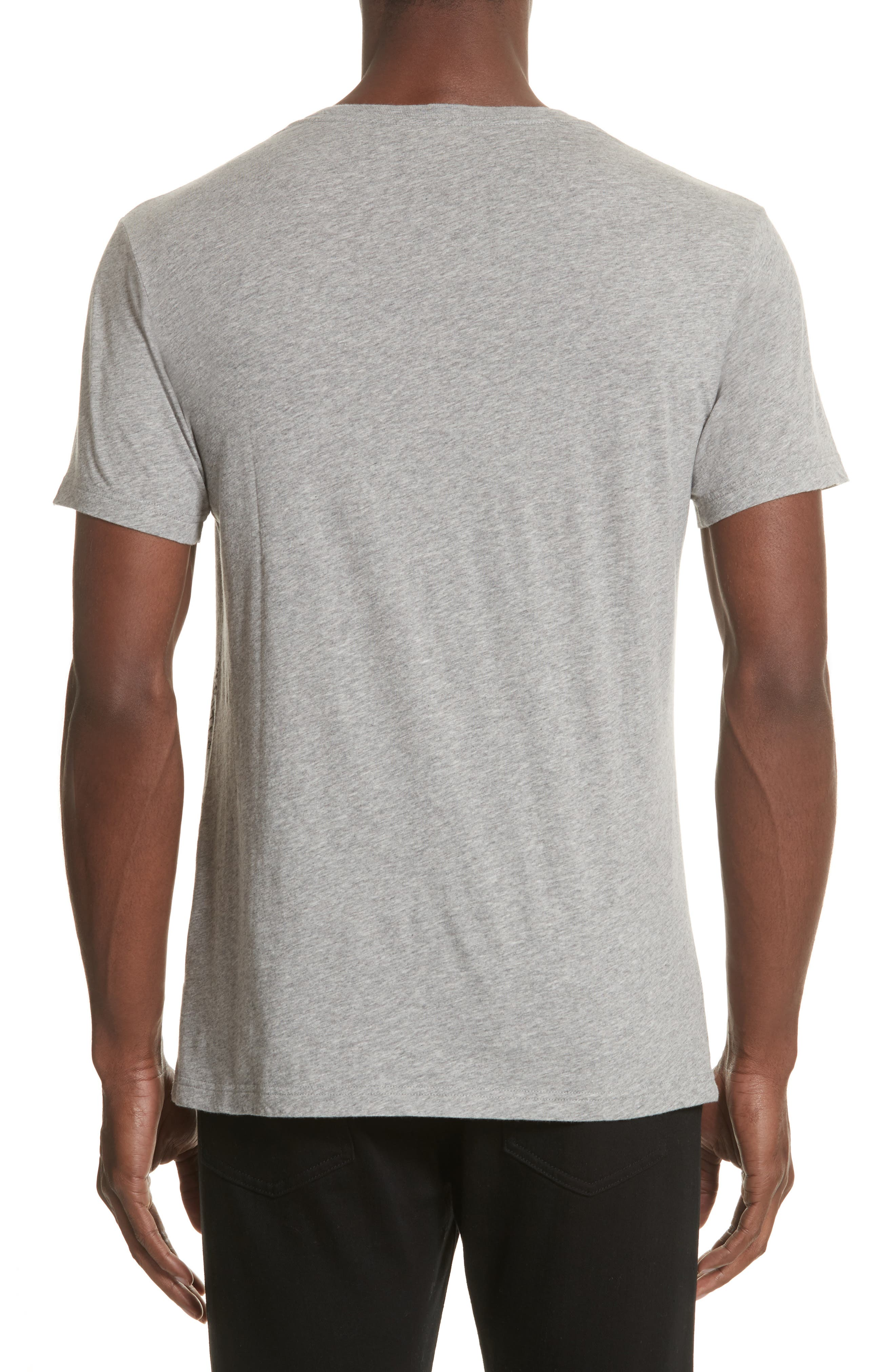 Becklow Standard Fit Graphic Tee,                             Alternate thumbnail 2, color,                             Pale Grey Melange