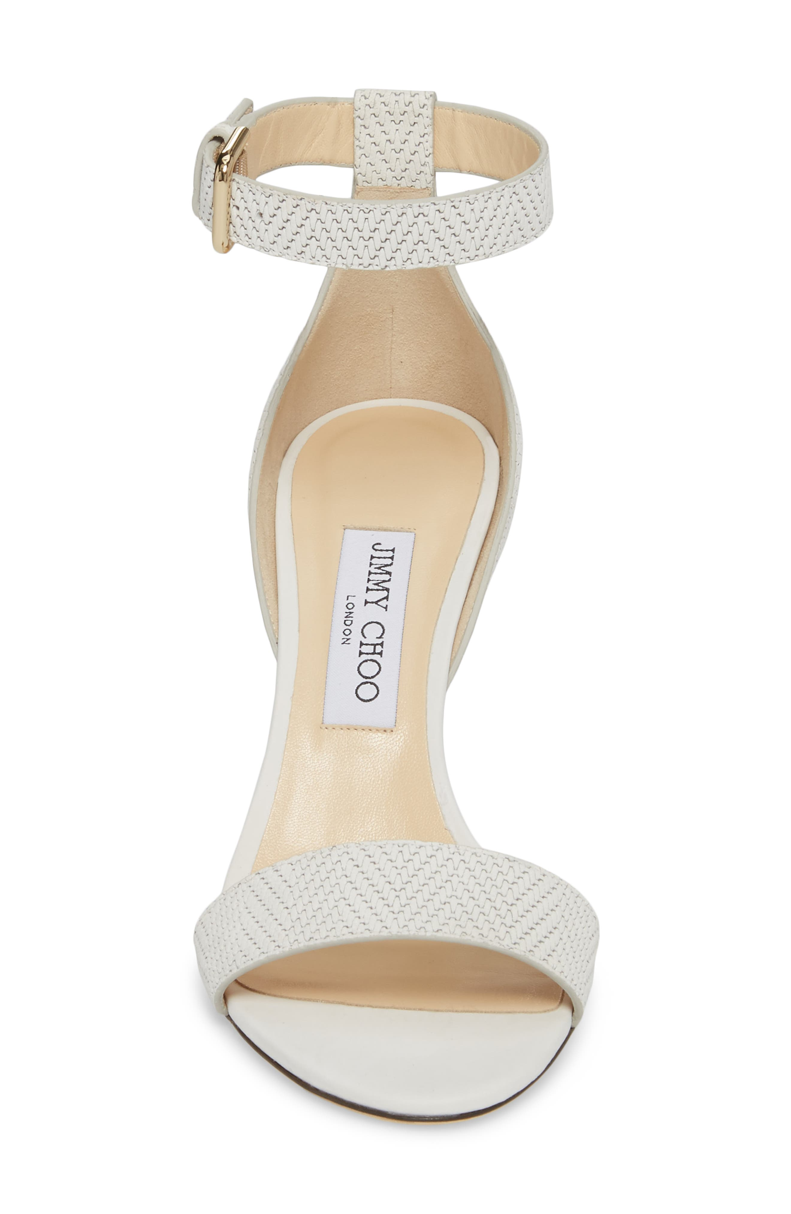 Alternate Image 4  - Jimmy Choo Edina Ankle Strap Sandal (Women)