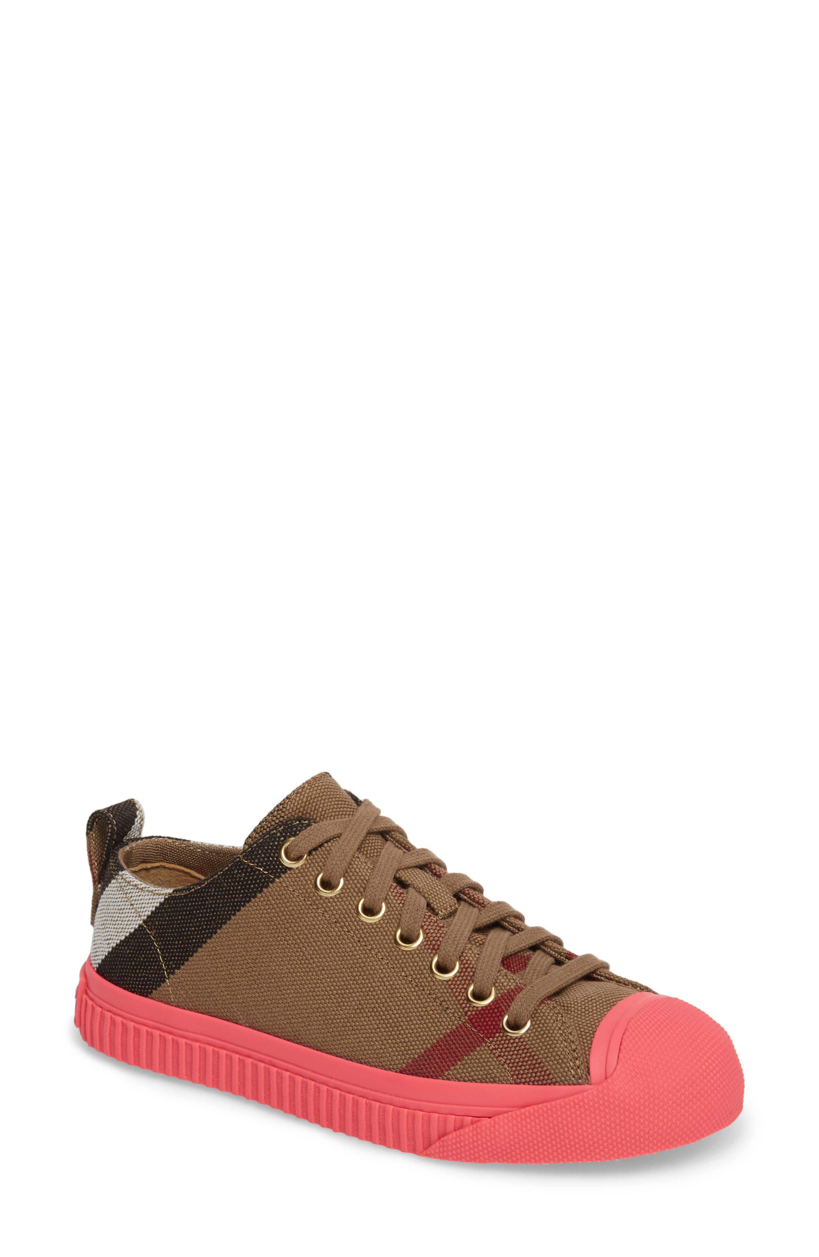 Bourne Sneaker,                         Main,                         color, Classic Check